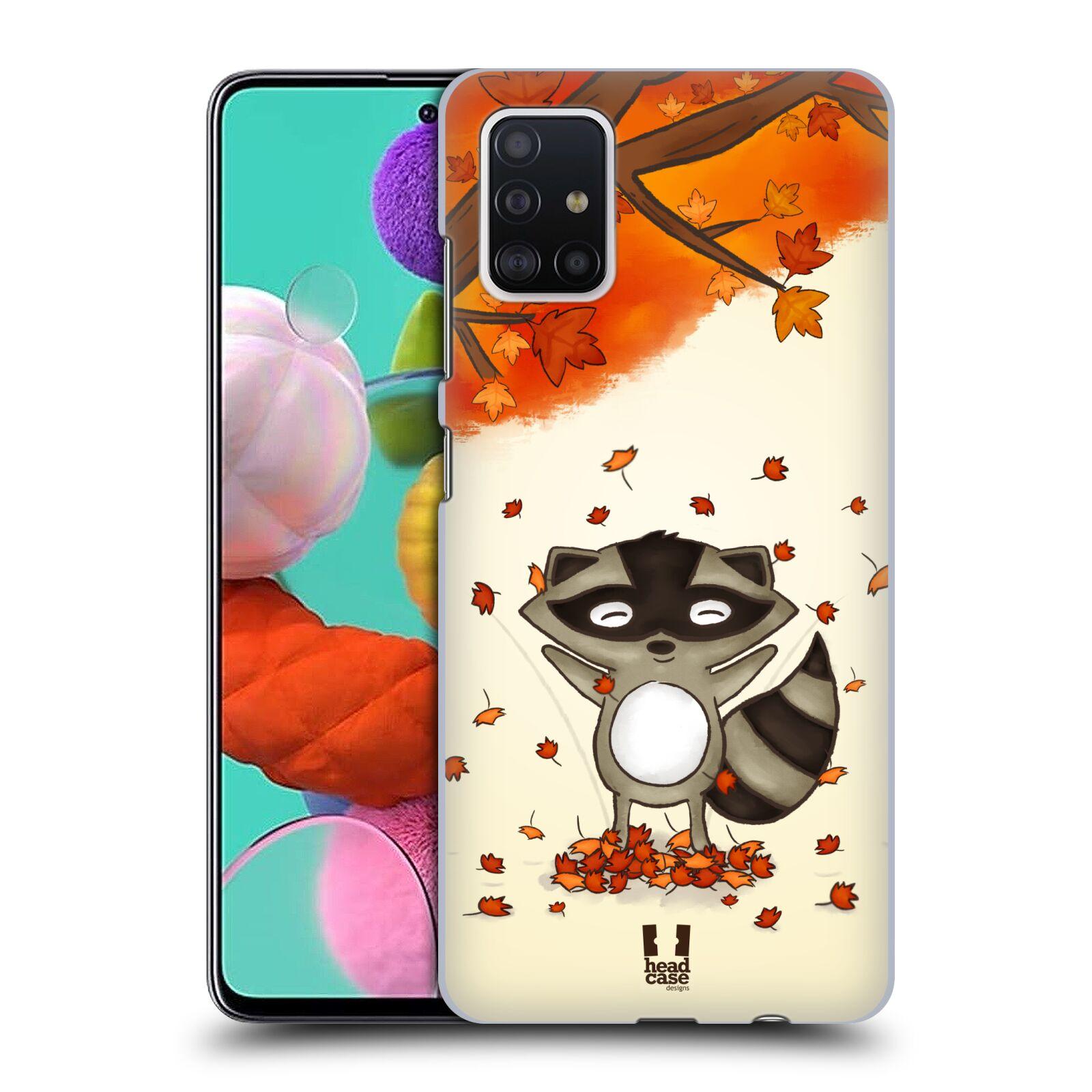 Plastové pouzdro na mobil Samsung Galaxy A51 - Head Case - PODZIMNÍ MÝVAL