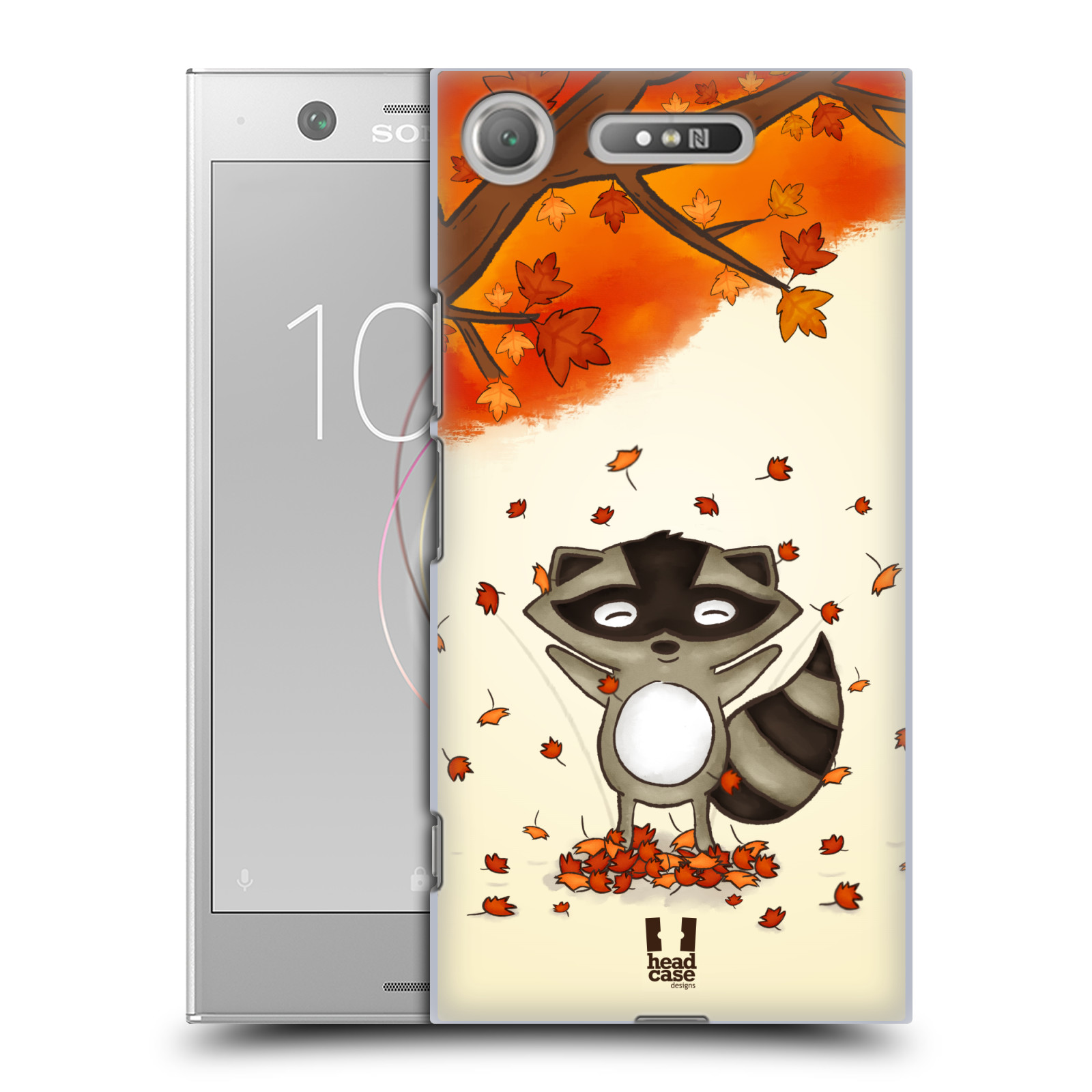 Plastové pouzdro na mobil Sony Xperia XZ1 - Head Case - PODZIMNÍ MÝVAL
