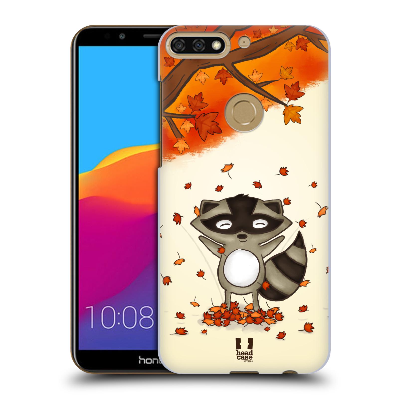 Plastové pouzdro na mobil Huawei Y7 Prime 2018 - Head Case - PODZIMNÍ MÝVAL