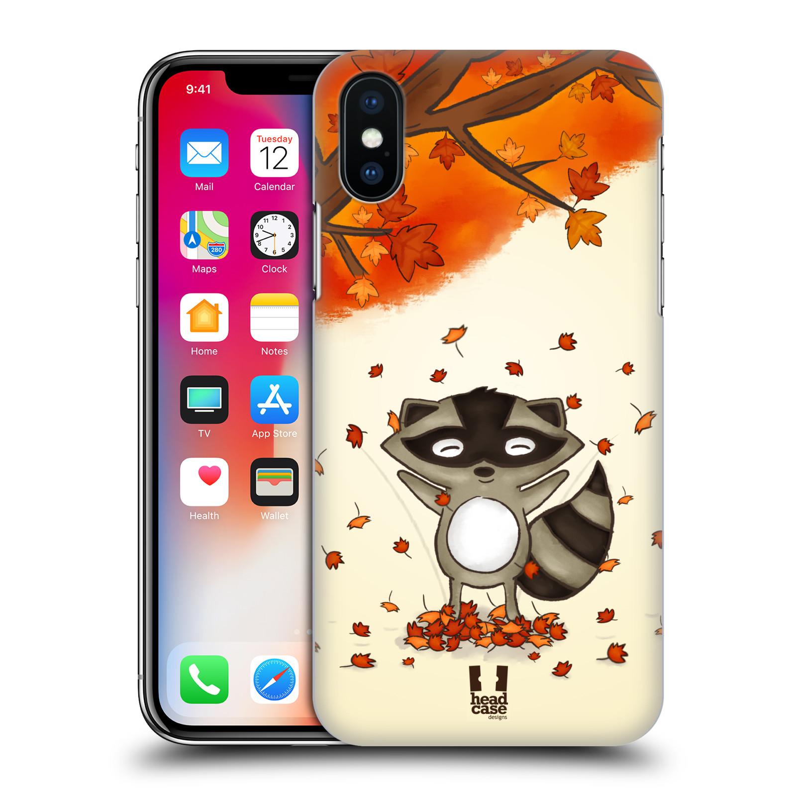 Plastové pouzdro na mobil Apple iPhone X - Head Case - PODZIMNÍ MÝVAL