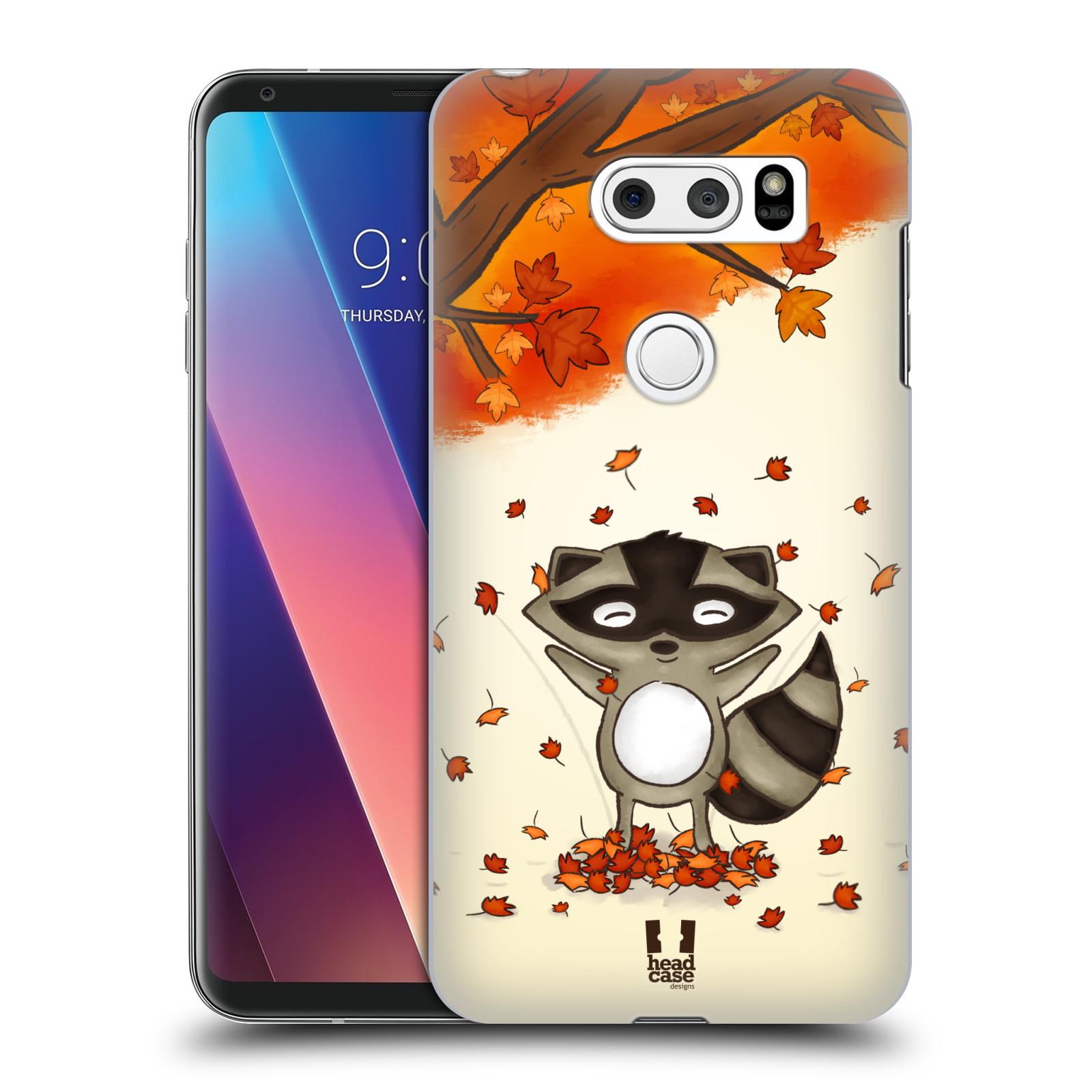 Plastové pouzdro na mobil LG V30 - Head Case - PODZIMNÍ MÝVAL