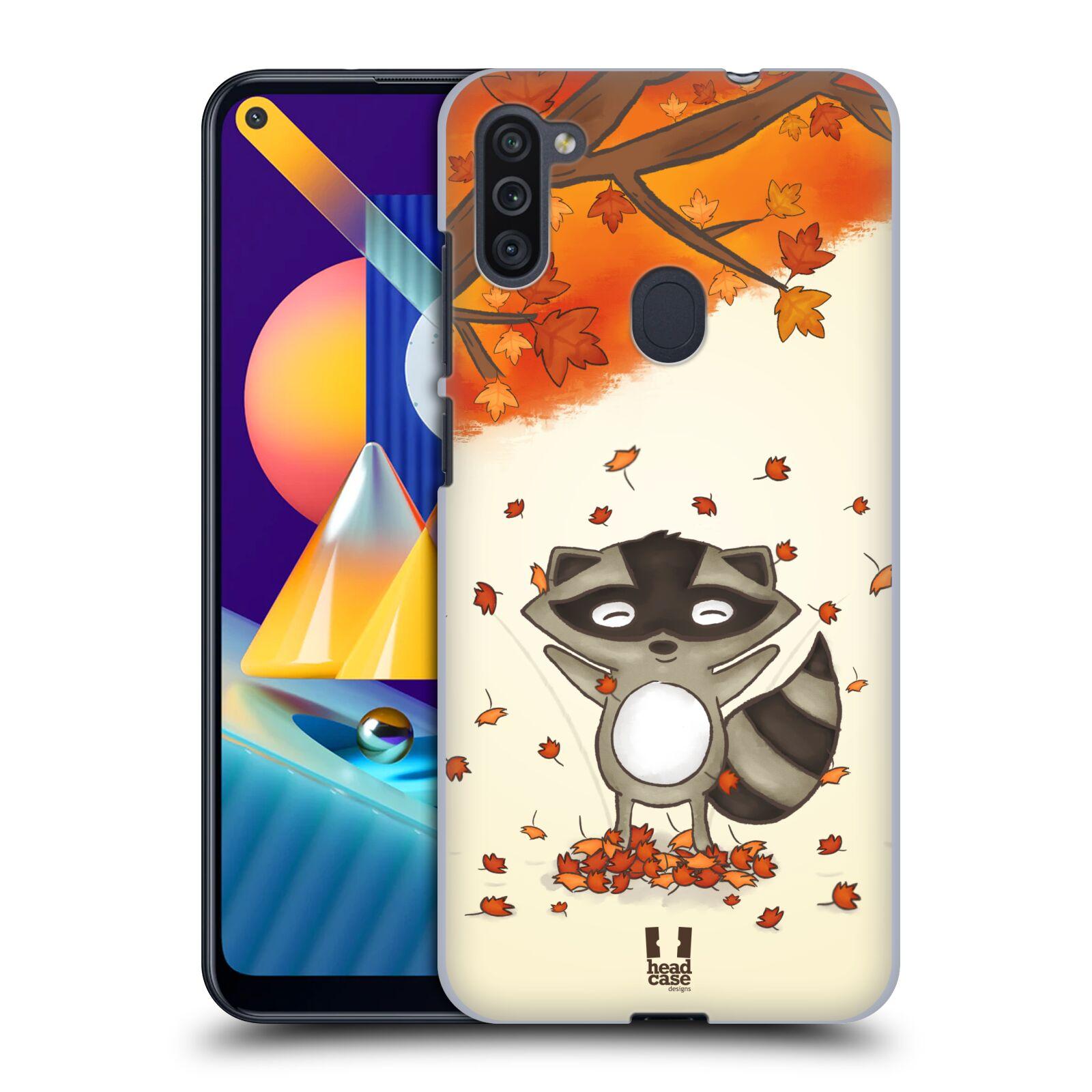 Plastové pouzdro na mobil Samsung Galaxy M11 - Head Case - PODZIMNÍ MÝVAL