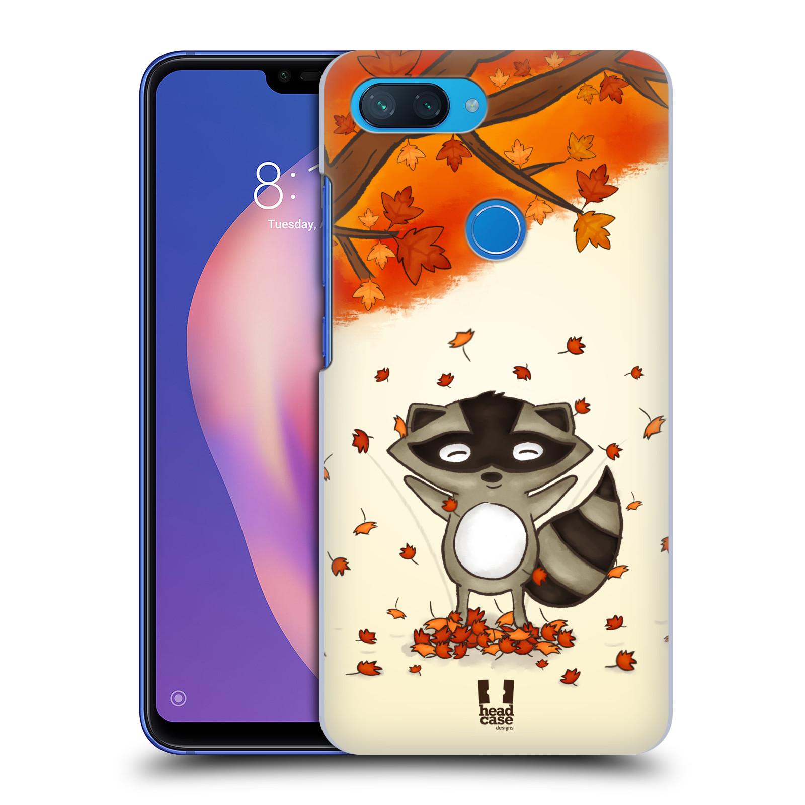 Plastové pouzdro na mobil Xiaomi Mi 8 Lite - Head Case - PODZIMNÍ MÝVAL