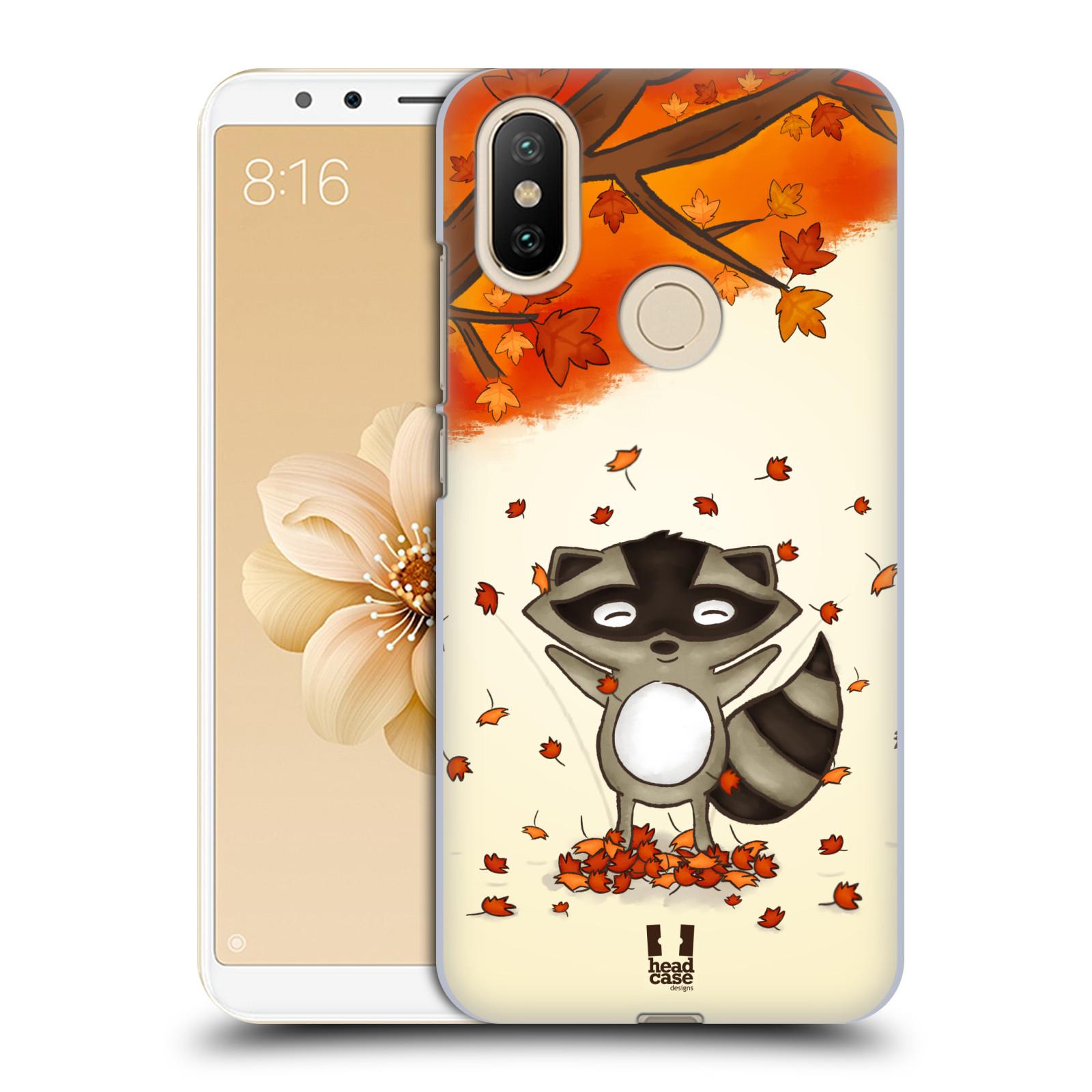 Plastové pouzdro na mobil Xiaomi Mi A2 - Head Case - PODZIMNÍ MÝVAL