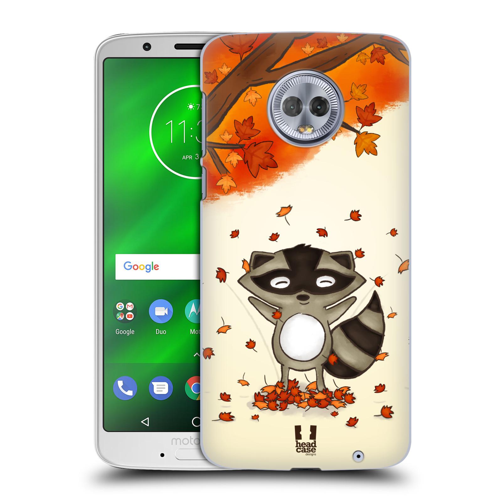 Plastové pouzdro na mobil Motorola Moto G6 Plus - Head Case - PODZIMNÍ MÝVAL