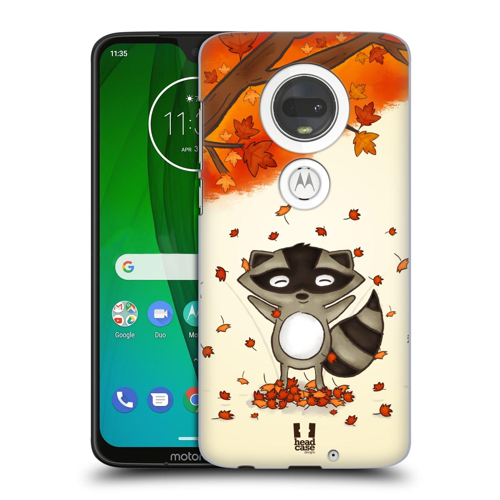 Plastové pouzdro na mobil Motorola Moto G7 - Head Case - PODZIMNÍ MÝVAL