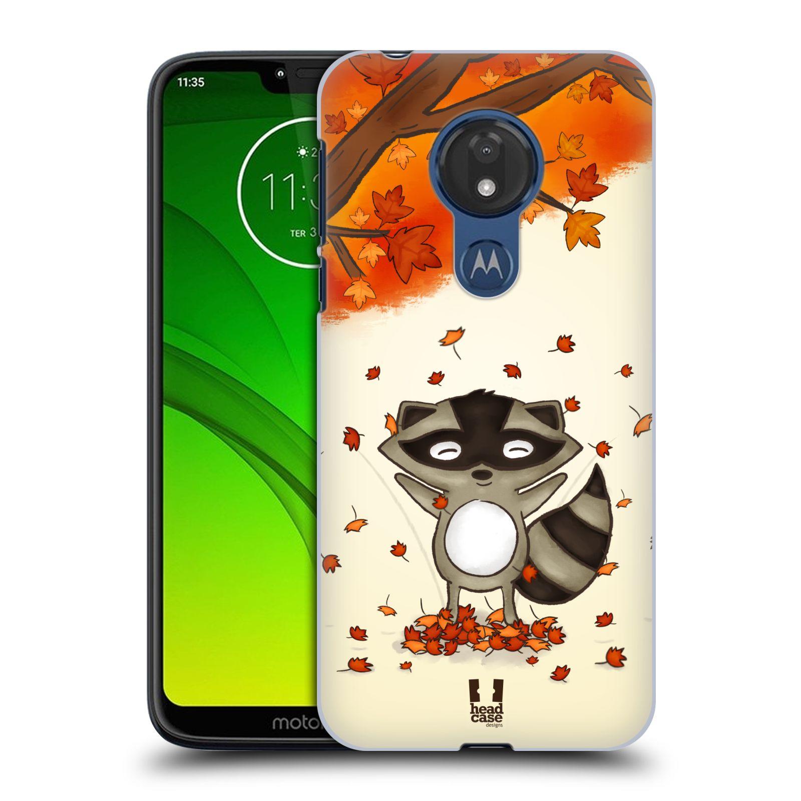 Plastové pouzdro na mobil Motorola Moto G7 Power - Head Case - PODZIMNÍ MÝVAL