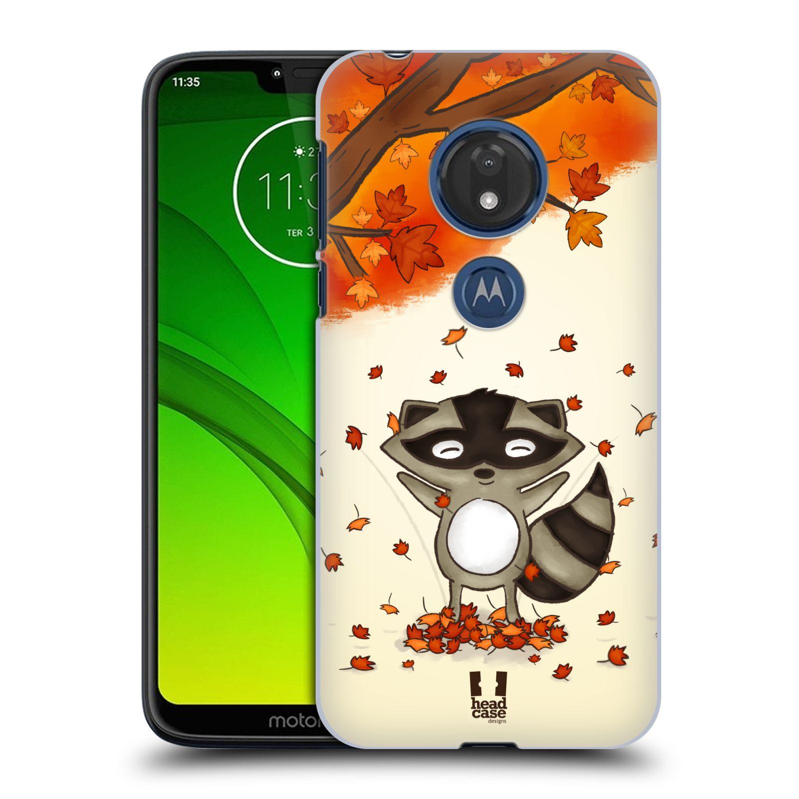 Plastové pouzdro na mobil Motorola Moto G7 Play - Head Case - PODZIMNÍ MÝVAL