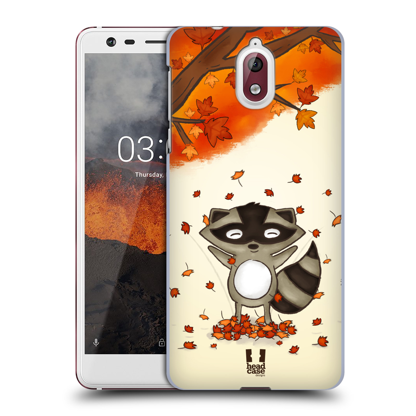 Plastové pouzdro na mobil Nokia 3.1 - Head Case - PODZIMNÍ MÝVAL