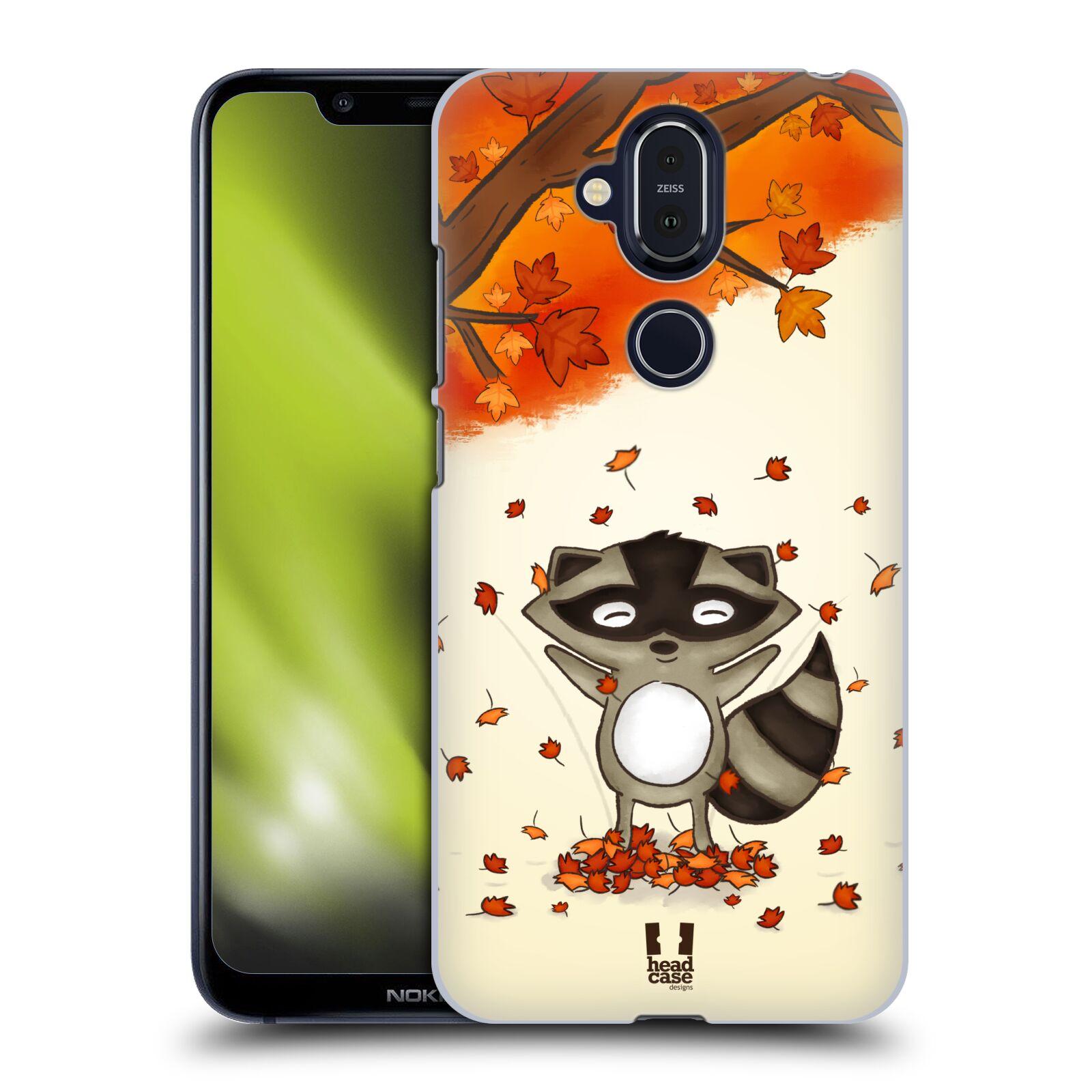 Plastové pouzdro na mobil Nokia 8.1 - Head Case - PODZIMNÍ MÝVAL