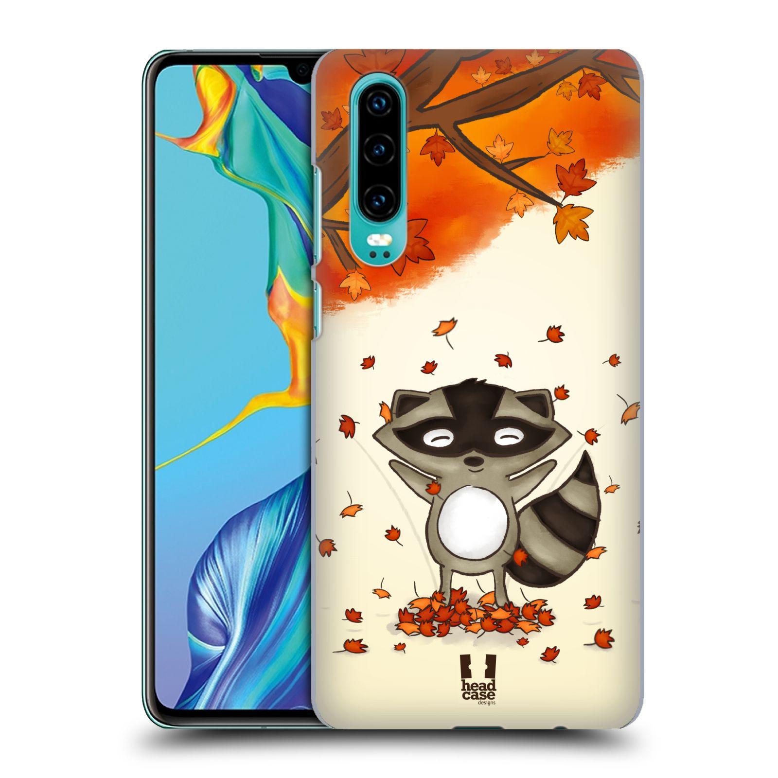 Plastové pouzdro na mobil Huawei P30 - Head Case - PODZIMNÍ MÝVAL