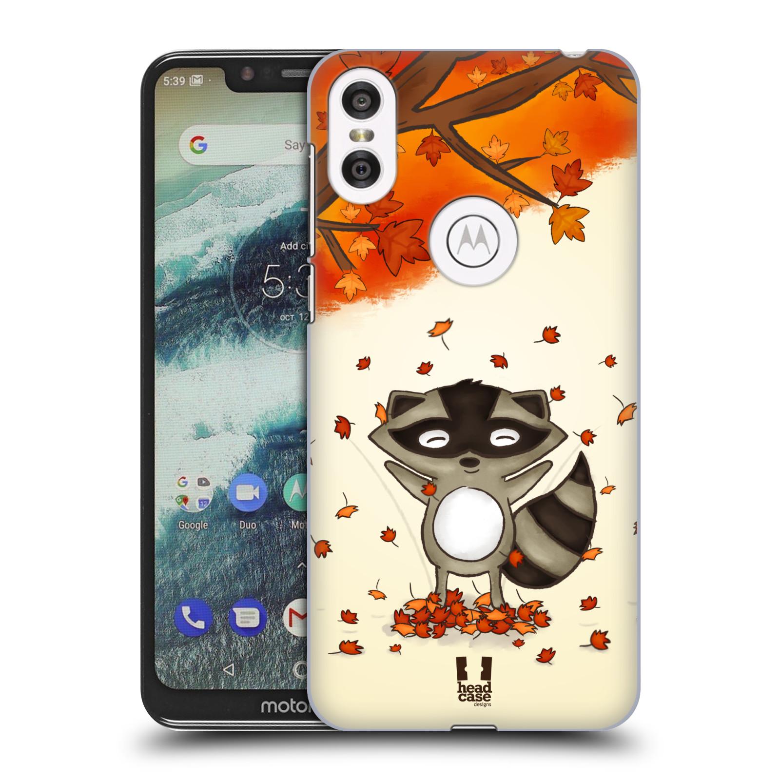 Plastové pouzdro na mobil Motorola One - Head Case - PODZIMNÍ MÝVAL