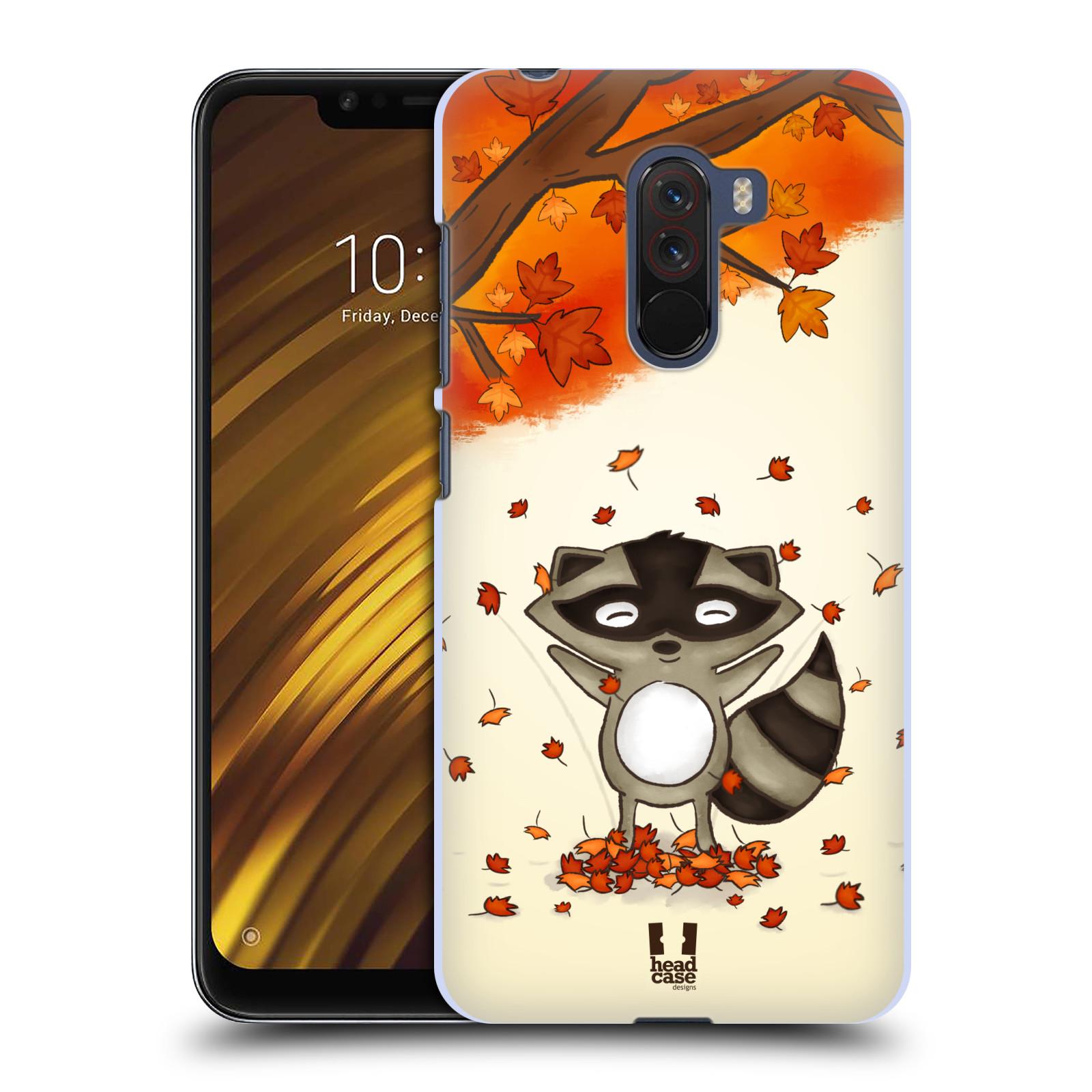 Plastové pouzdro na mobil Xiaomi Pocophone F1 - Head Case - PODZIMNÍ MÝVAL