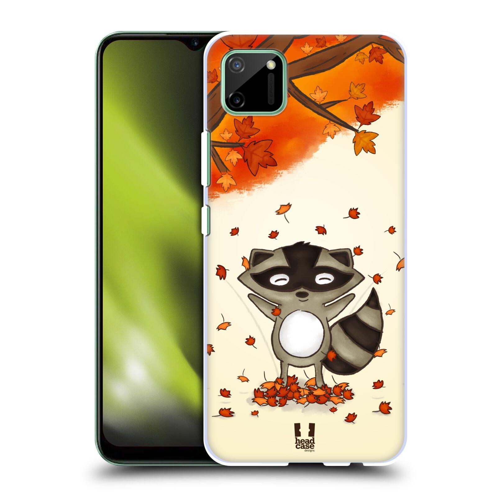 Plastové pouzdro na mobil Realme C11 - Head Case - PODZIMNÍ MÝVAL