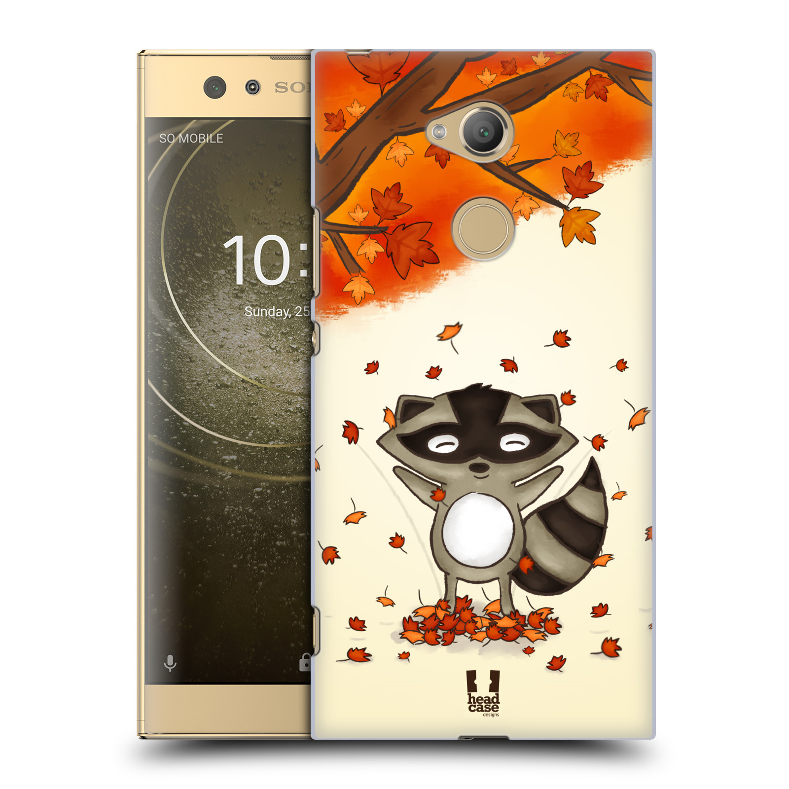 Plastové pouzdro na mobil Sony Xperia XA2 Ultra - Head Case - PODZIMNÍ MÝVAL
