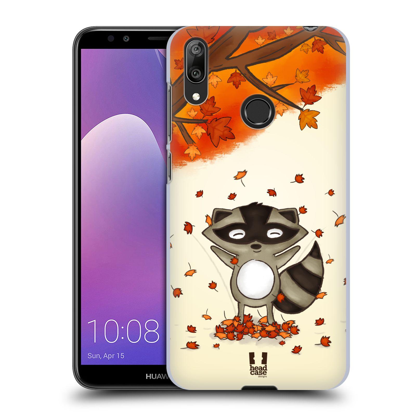 Plastové pouzdro na mobil Huawei Y7 (2019) - Head Case - PODZIMNÍ MÝVAL