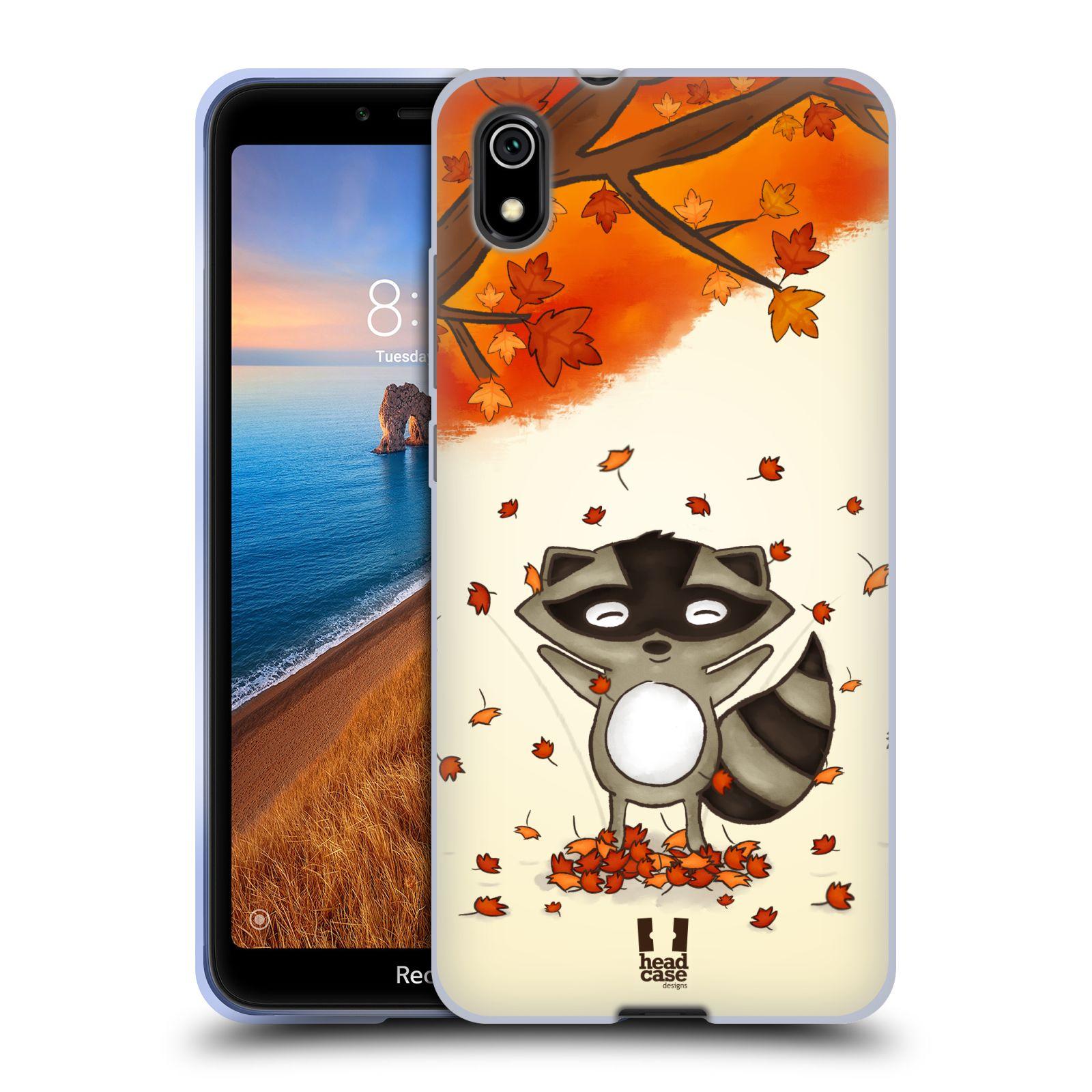 Silikonové pouzdro na mobil Redmi 7A - Head Case - PODZIMNÍ MÝVAL