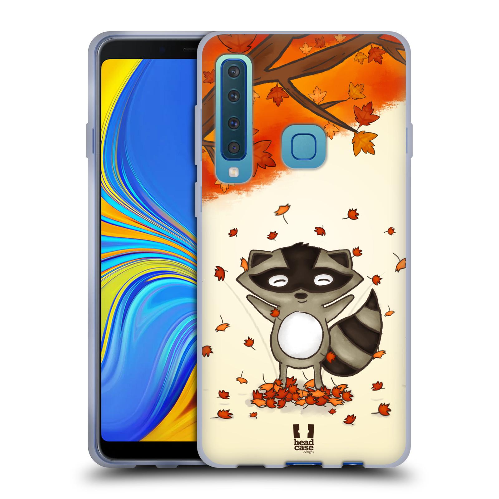 Silikonové pouzdro na mobil Samsung Galaxy A9 (2018) - Head Case - PODZIMNÍ MÝVAL