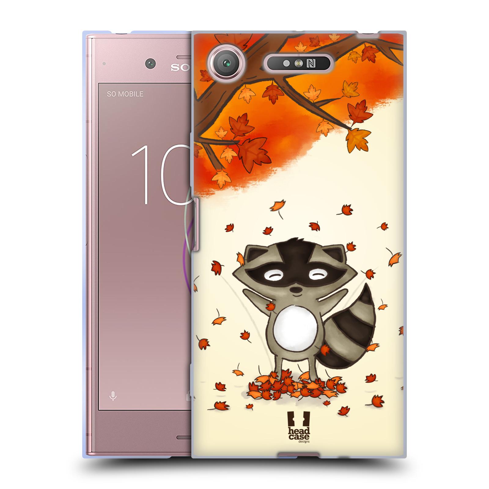 Silikonové pouzdro na mobil Sony Xperia XZ1 - Head Case - PODZIMNÍ MÝVAL
