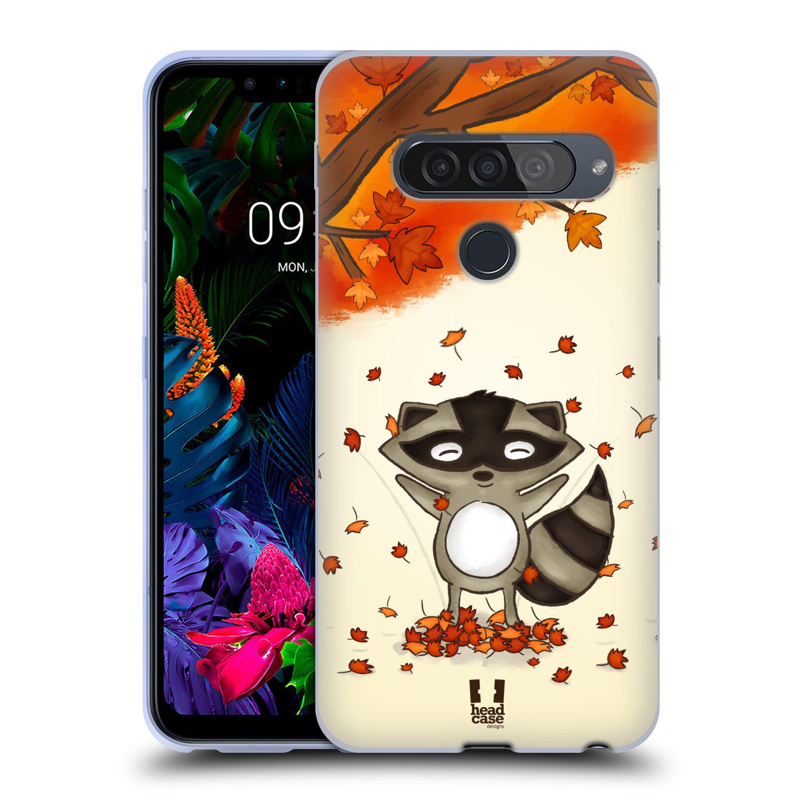 Silikonové pouzdro na mobil LG G8s ThinQ - Head Case - PODZIMNÍ MÝVAL