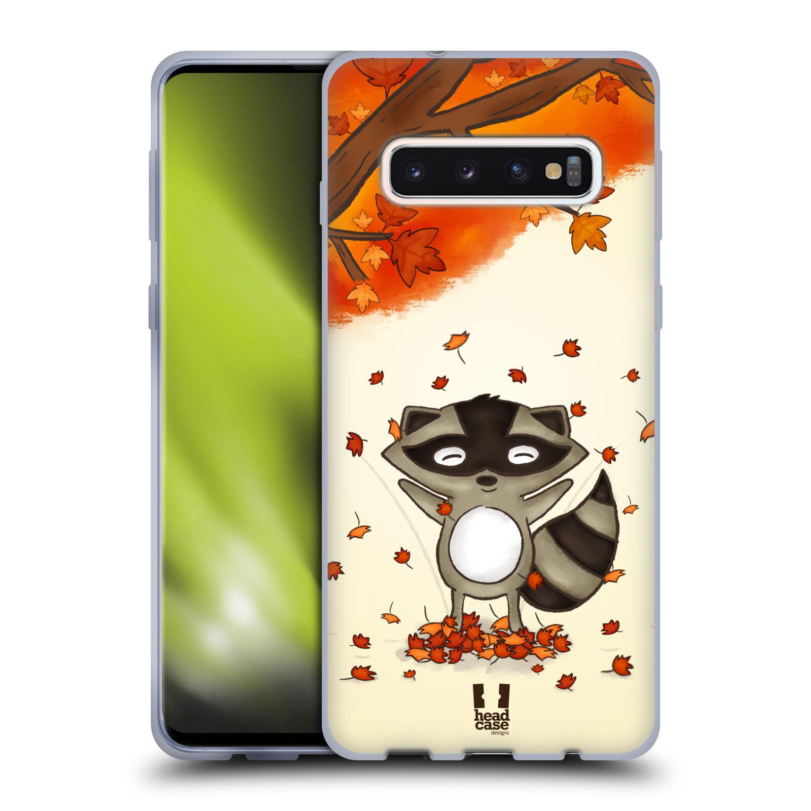 Silikonové pouzdro na mobil Samsung Galaxy S10 - Head Case - PODZIMNÍ MÝVAL