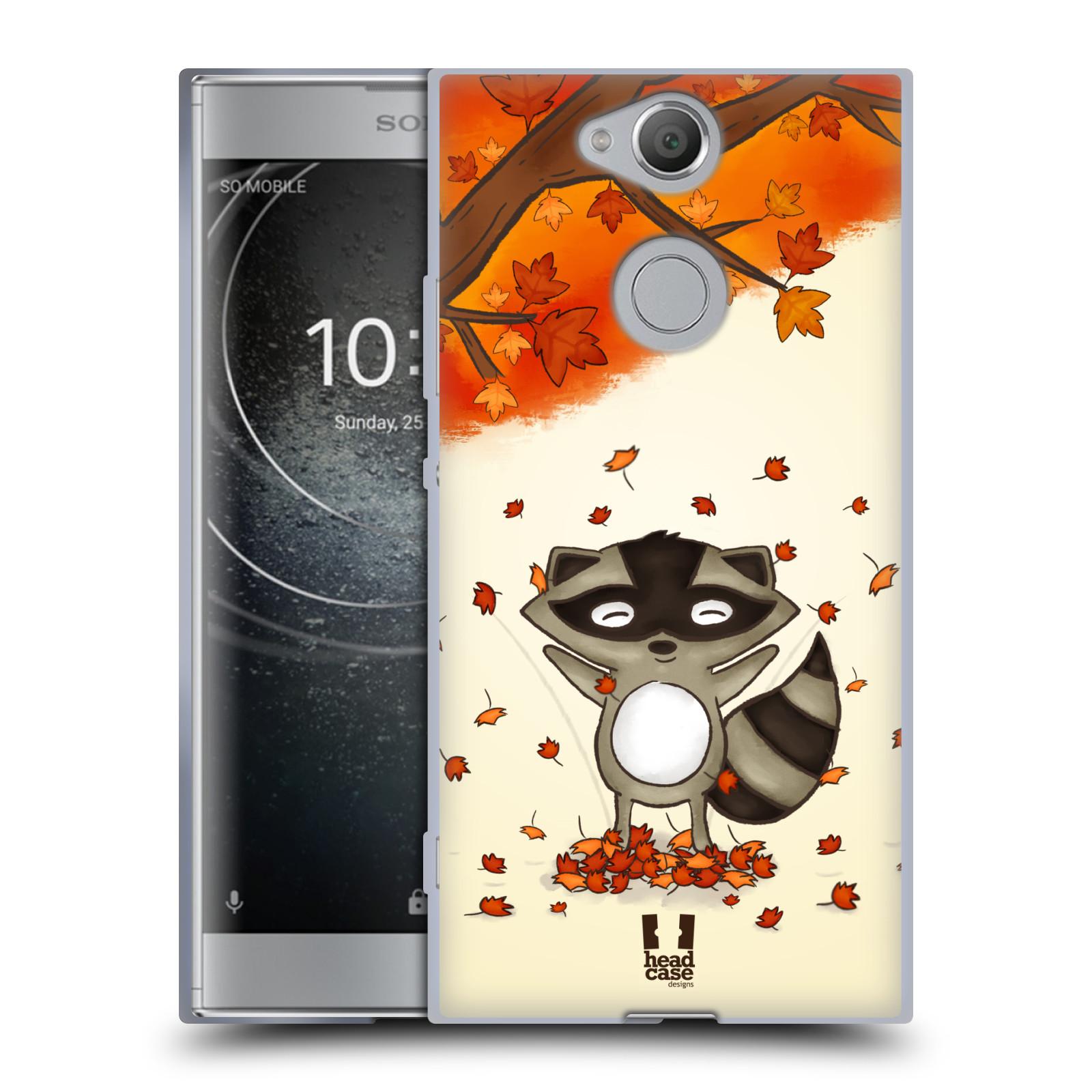 Silikonové pouzdro na mobil Sony Xperia XA2 - Head Case - PODZIMNÍ MÝVAL