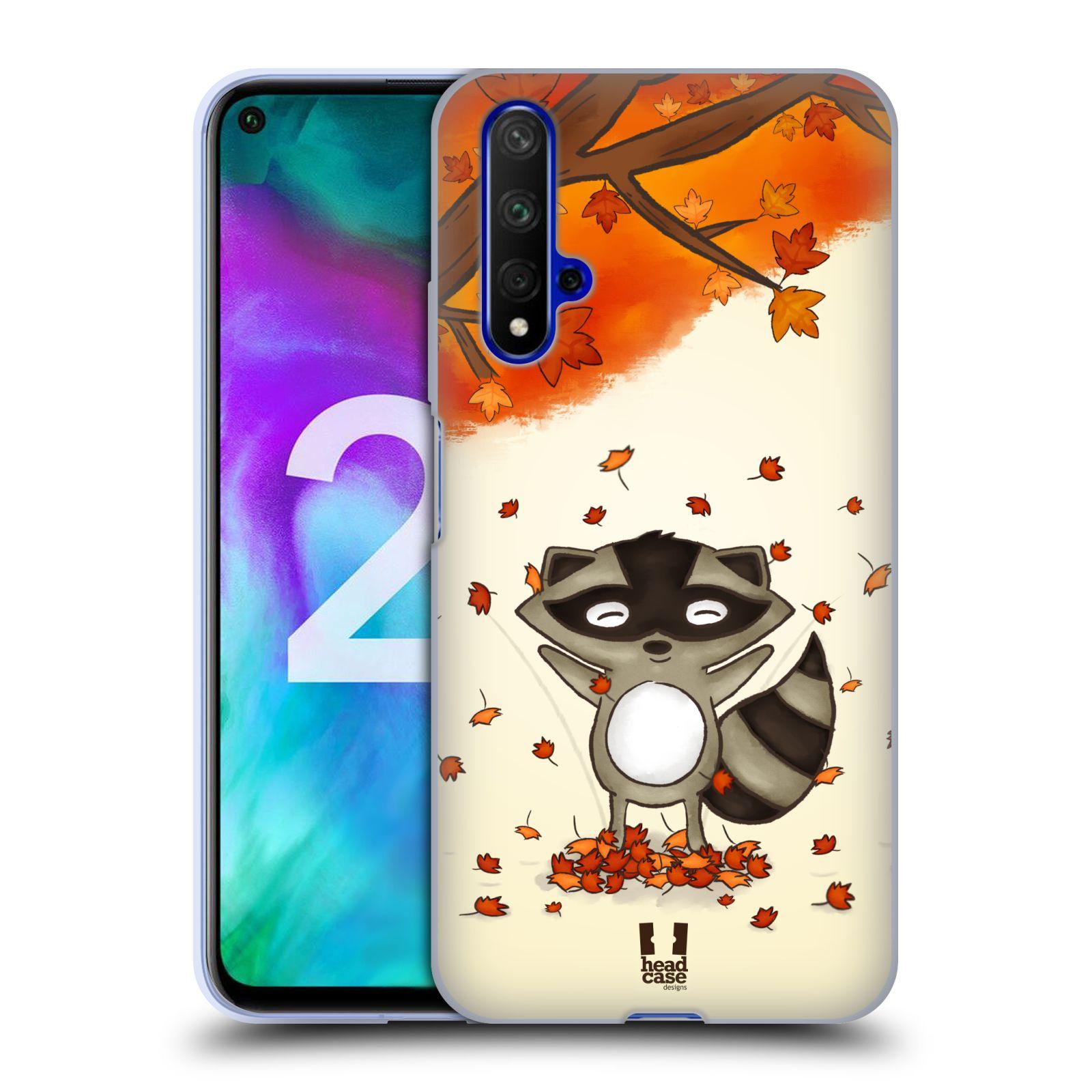 Silikonové pouzdro na mobil Honor 20 - Head Case - PODZIMNÍ MÝVAL