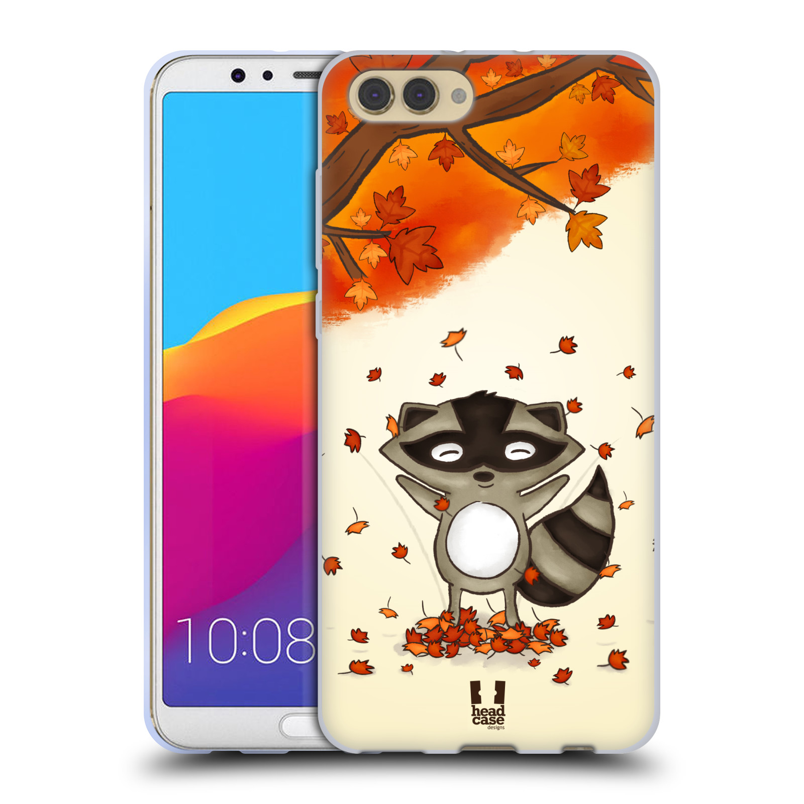 Silikonové pouzdro na mobil Honor View 10 - Head Case - PODZIMNÍ MÝVAL