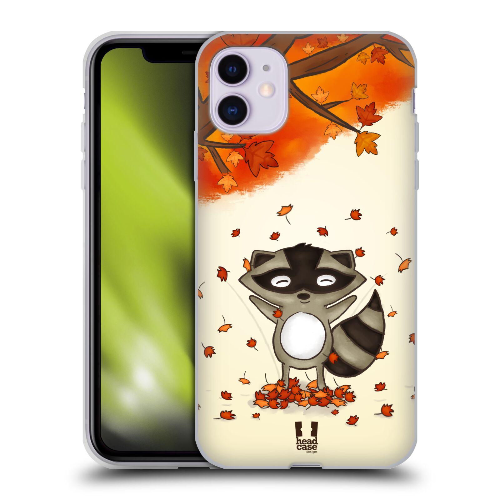 Silikonové pouzdro na mobil Apple iPhone 11 - Head Case - PODZIMNÍ MÝVAL
