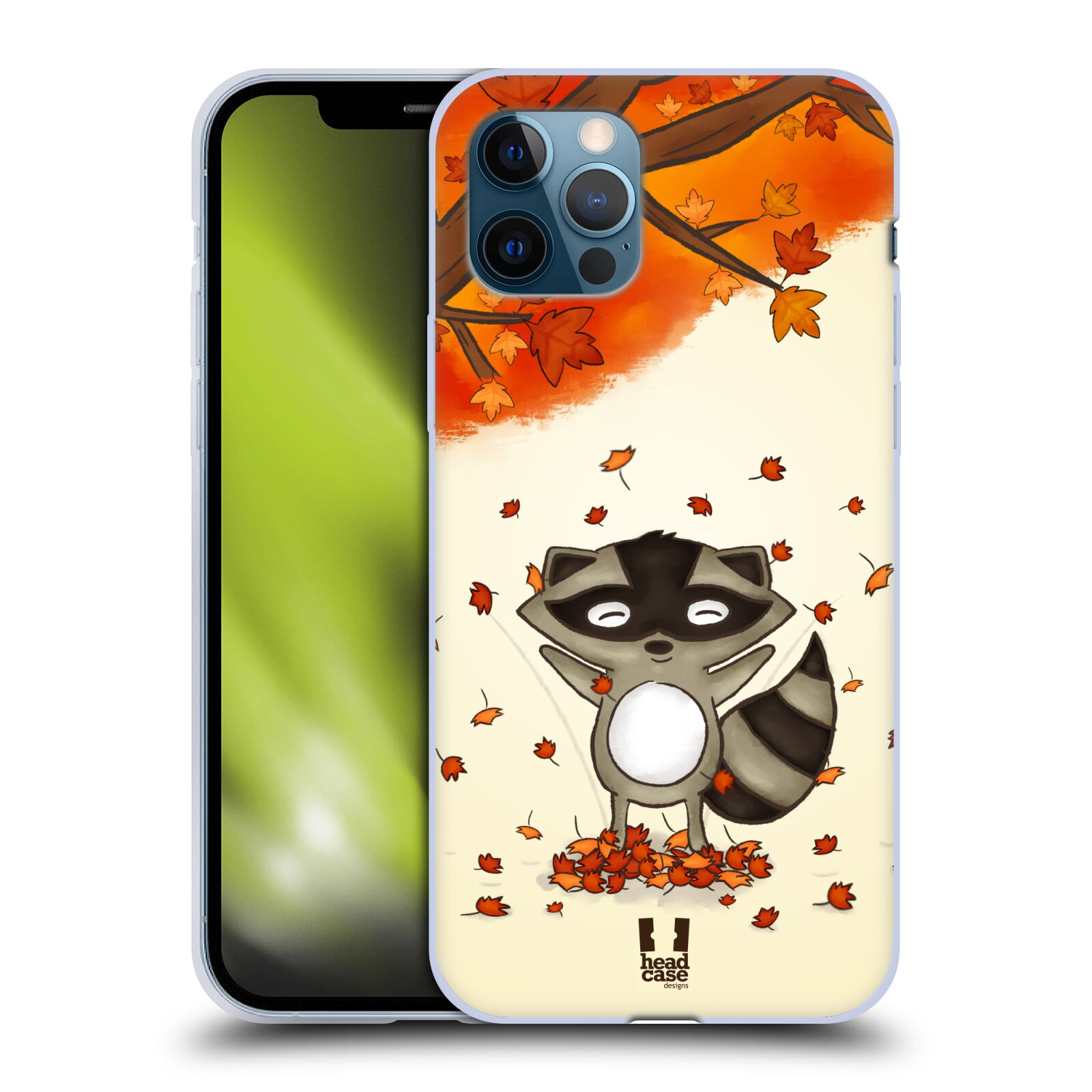 Silikonové pouzdro na mobil Apple iPhone 12 / 12 Pro - Head Case - PODZIMNÍ MÝVAL