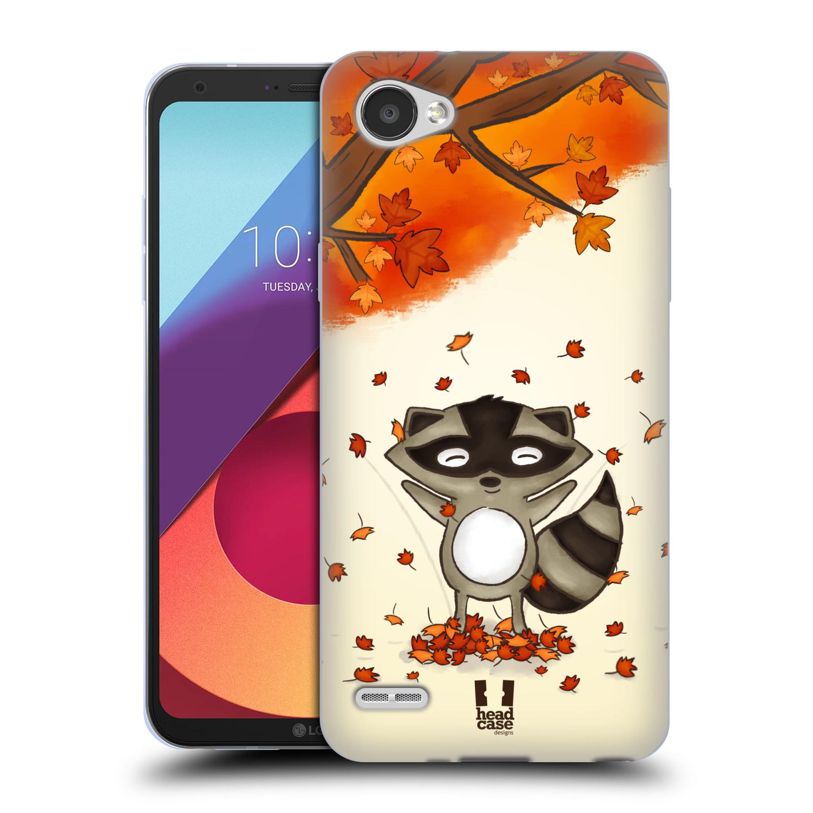 Silikonové pouzdro na mobil LG Q6 - Head Case - PODZIMNÍ MÝVAL