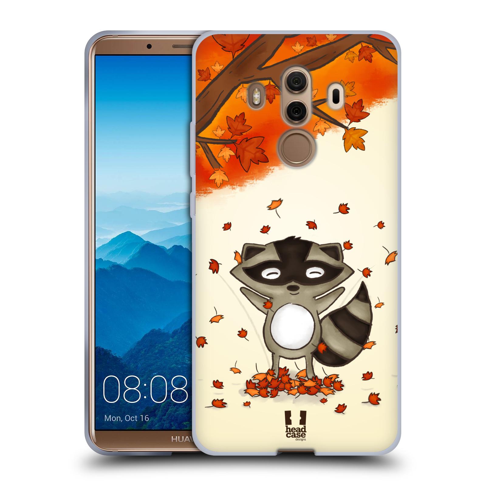 Silikonové pouzdro na mobil Huawei Mate 10 Pro - Head Case - PODZIMNÍ MÝVAL