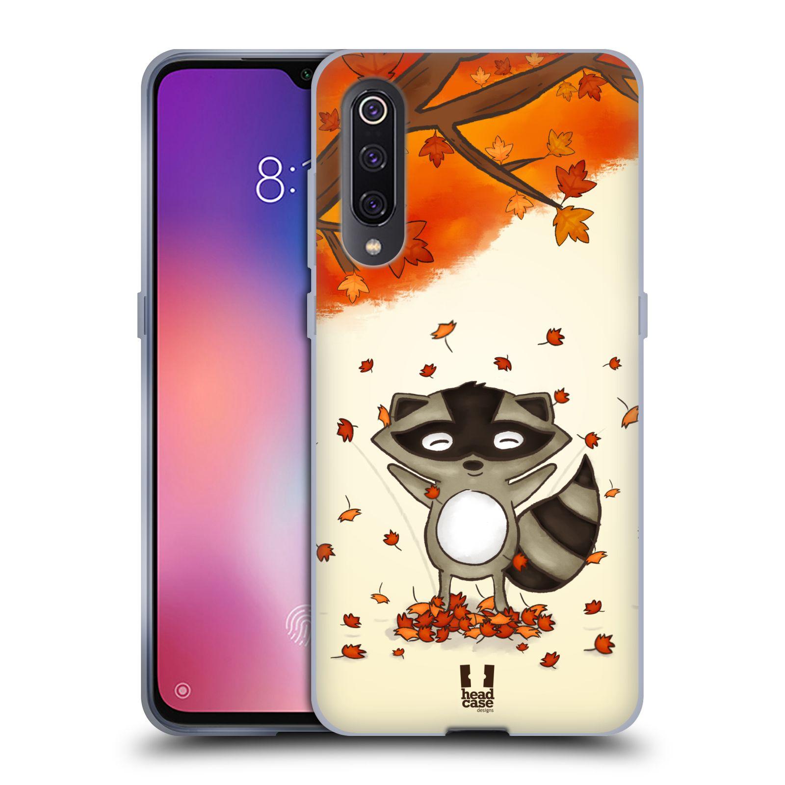 Silikonové pouzdro na mobil Xiaomi Mi 9 - Head Case - PODZIMNÍ MÝVAL