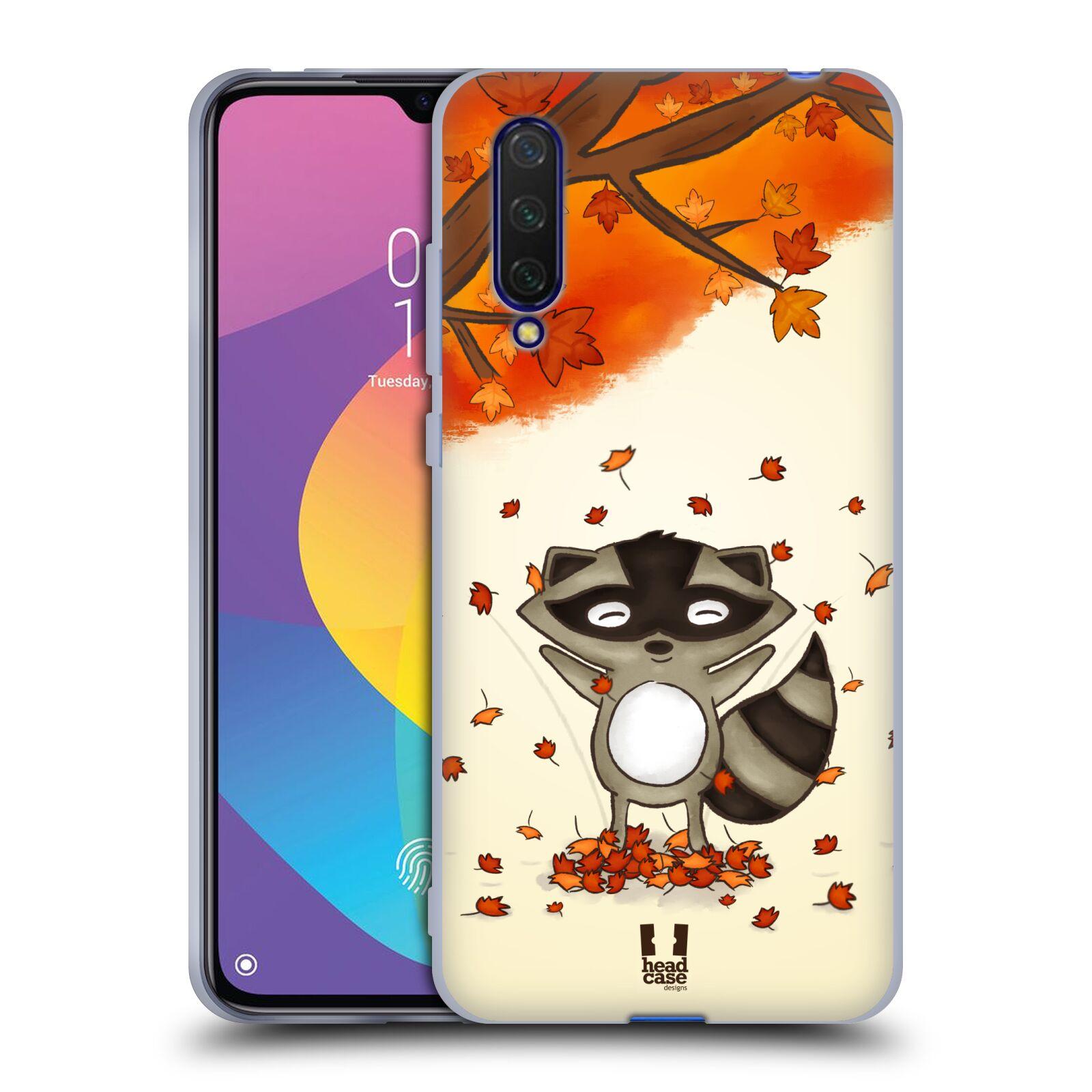 Silikonové pouzdro na mobil Xiaomi Mi 9 Lite - Head Case - PODZIMNÍ MÝVAL