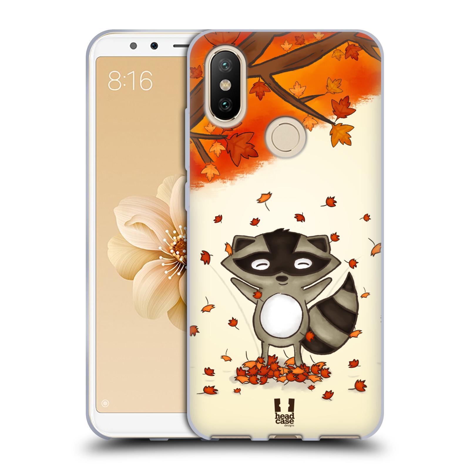 Silikonové pouzdro na mobil Xiaomi Mi A2 - Head Case - PODZIMNÍ MÝVAL