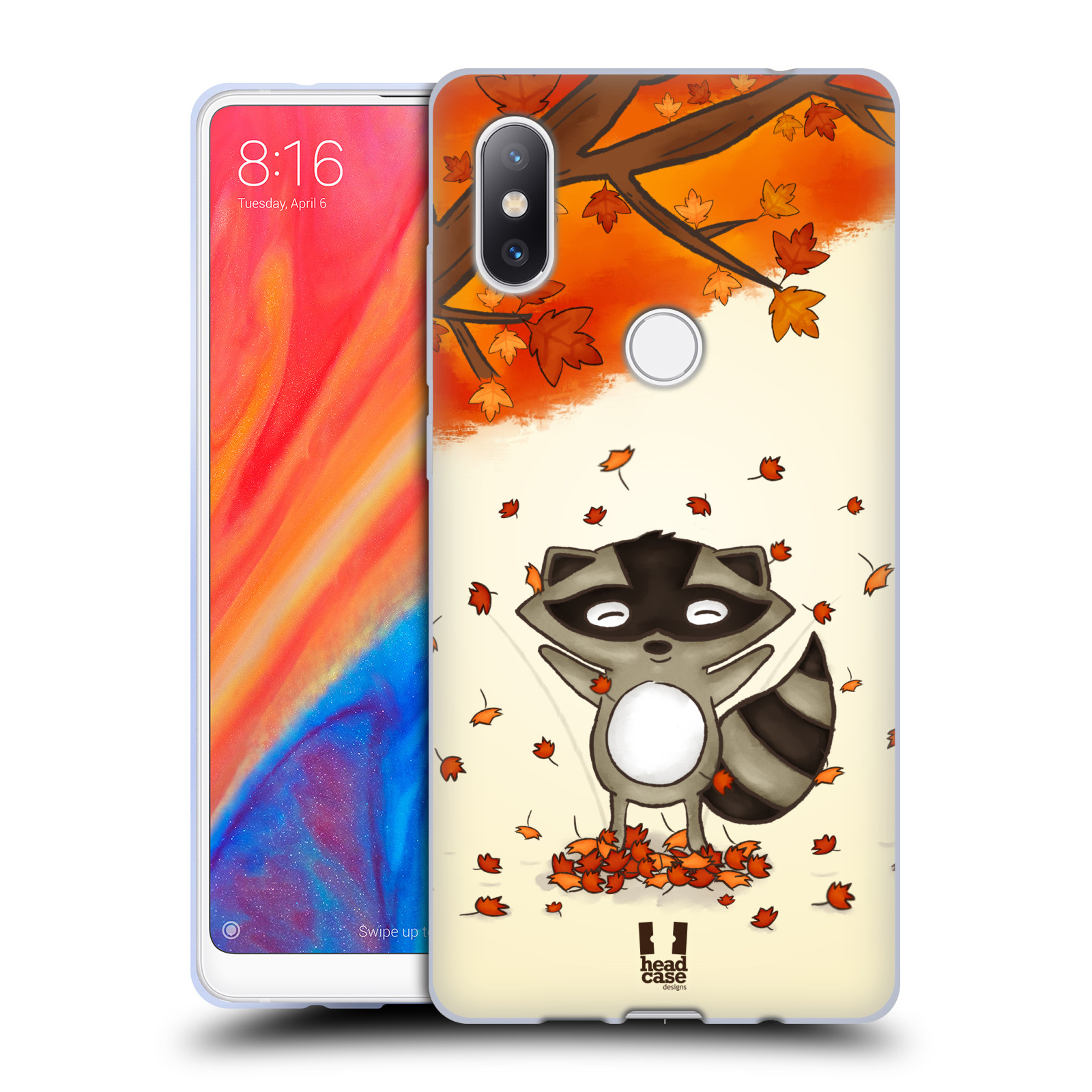 Silikonové pouzdro na mobil Xiaomi Mi Mix 2S - Head Case - PODZIMNÍ MÝVAL