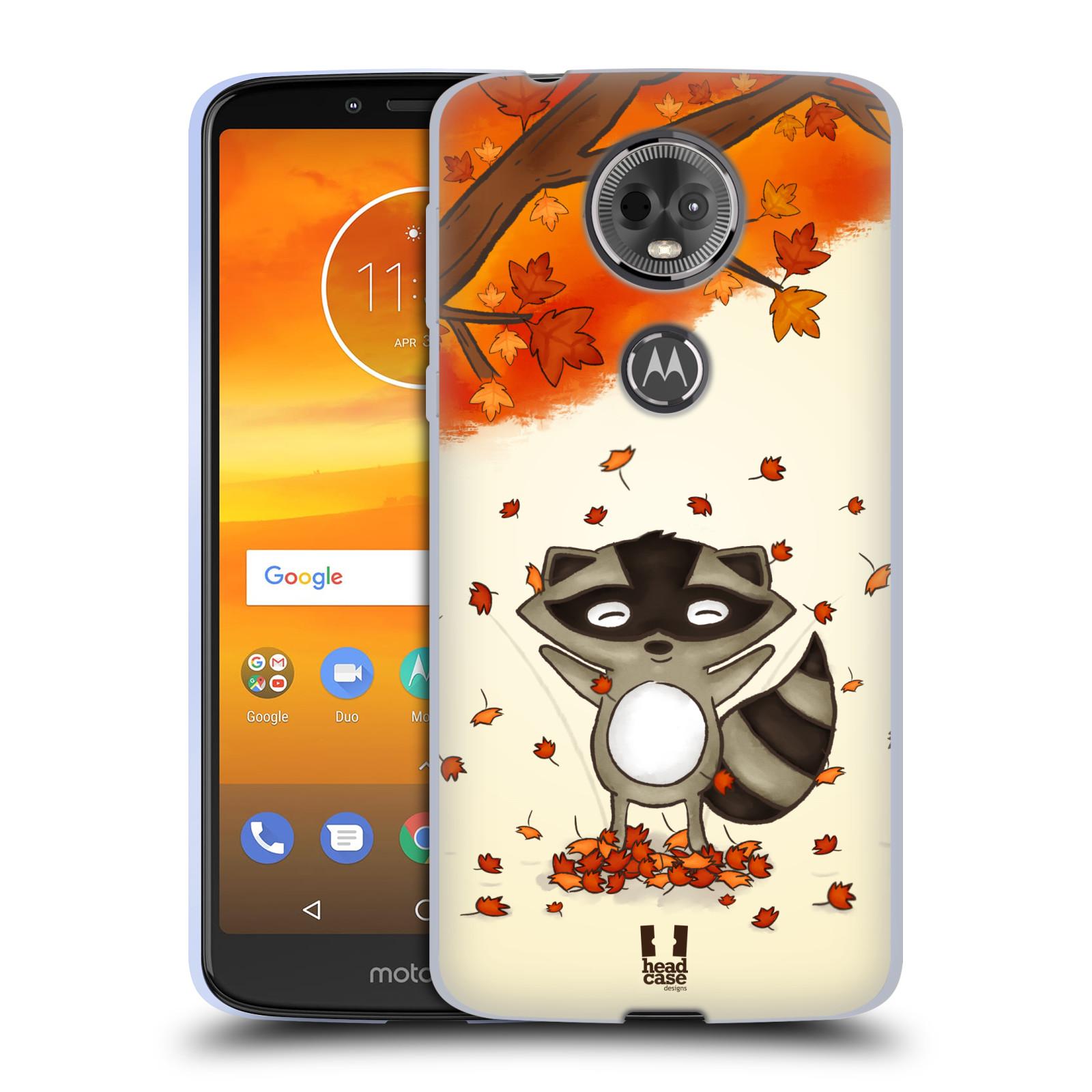 Silikonové pouzdro na mobil Motorola Moto E5 Plus - Head Case - PODZIMNÍ MÝVAL