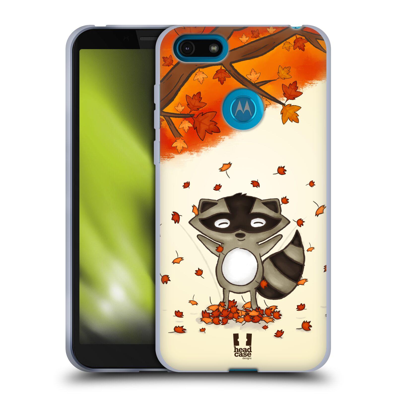 Silikonové pouzdro na mobil Motorola Moto E6 Play - Head Case - PODZIMNÍ MÝVAL