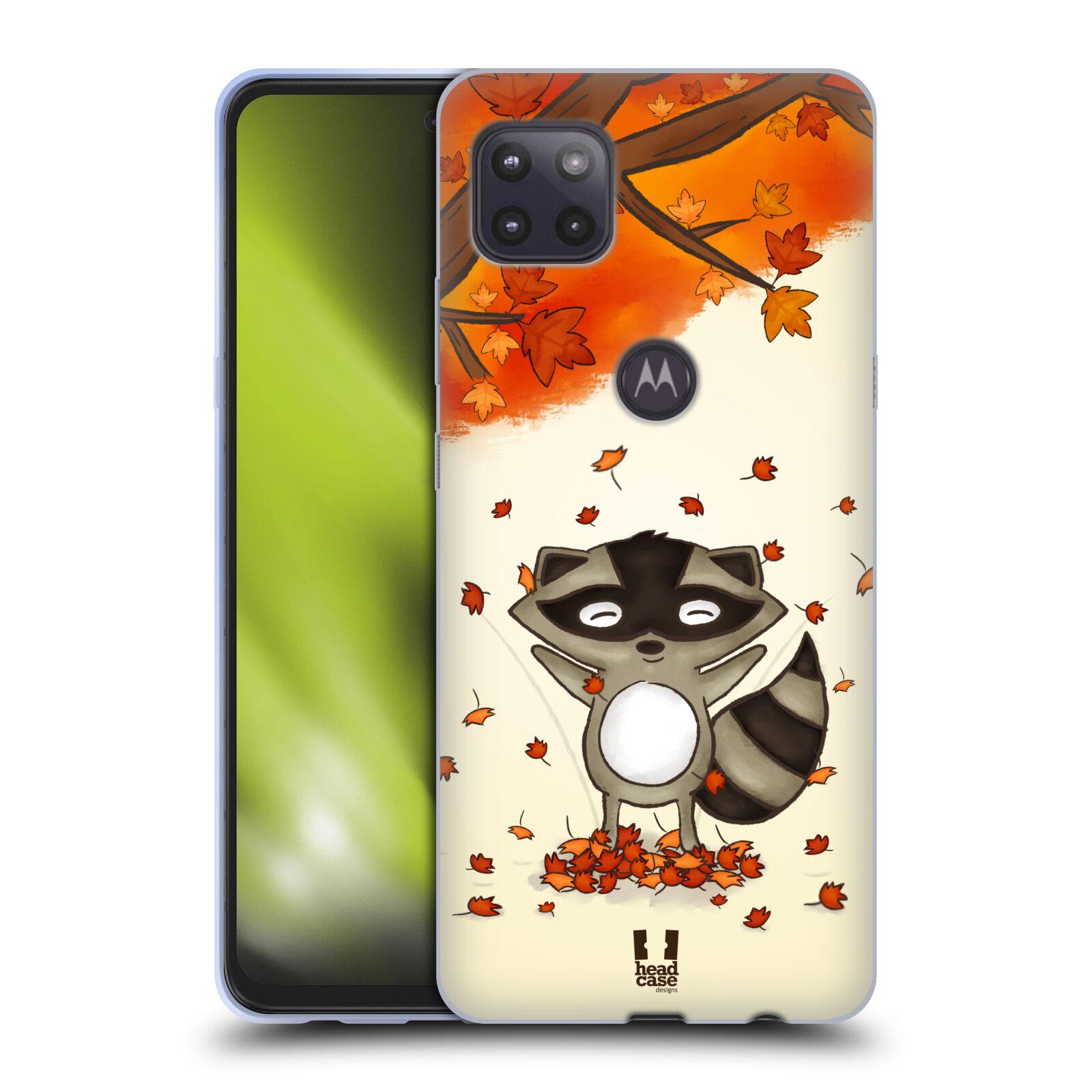Silikonové pouzdro na mobil Motorola Moto G 5G - Head Case - PODZIMNÍ MÝVAL