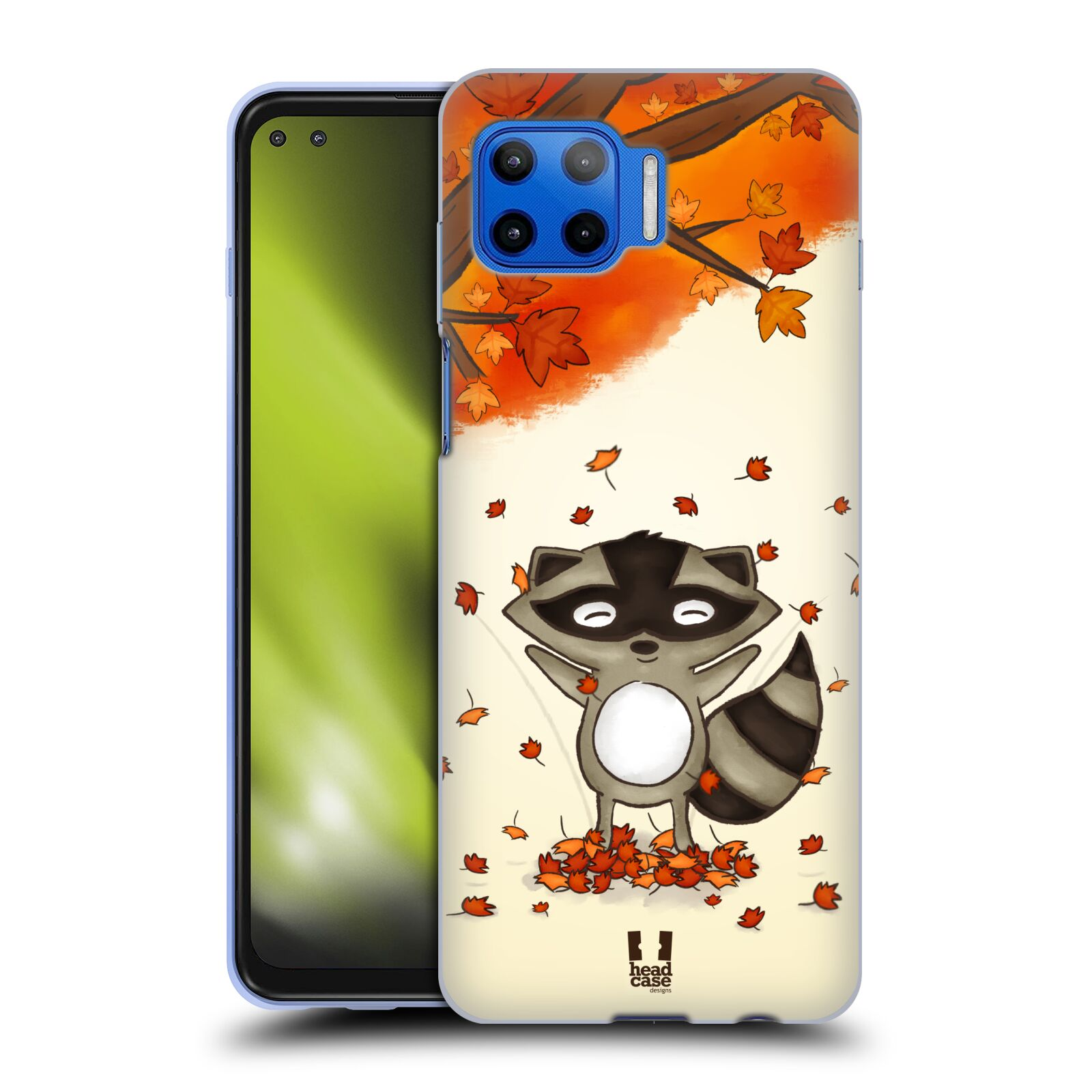 Silikonové pouzdro na mobil Motorola Moto G 5G Plus - Head Case - PODZIMNÍ MÝVAL