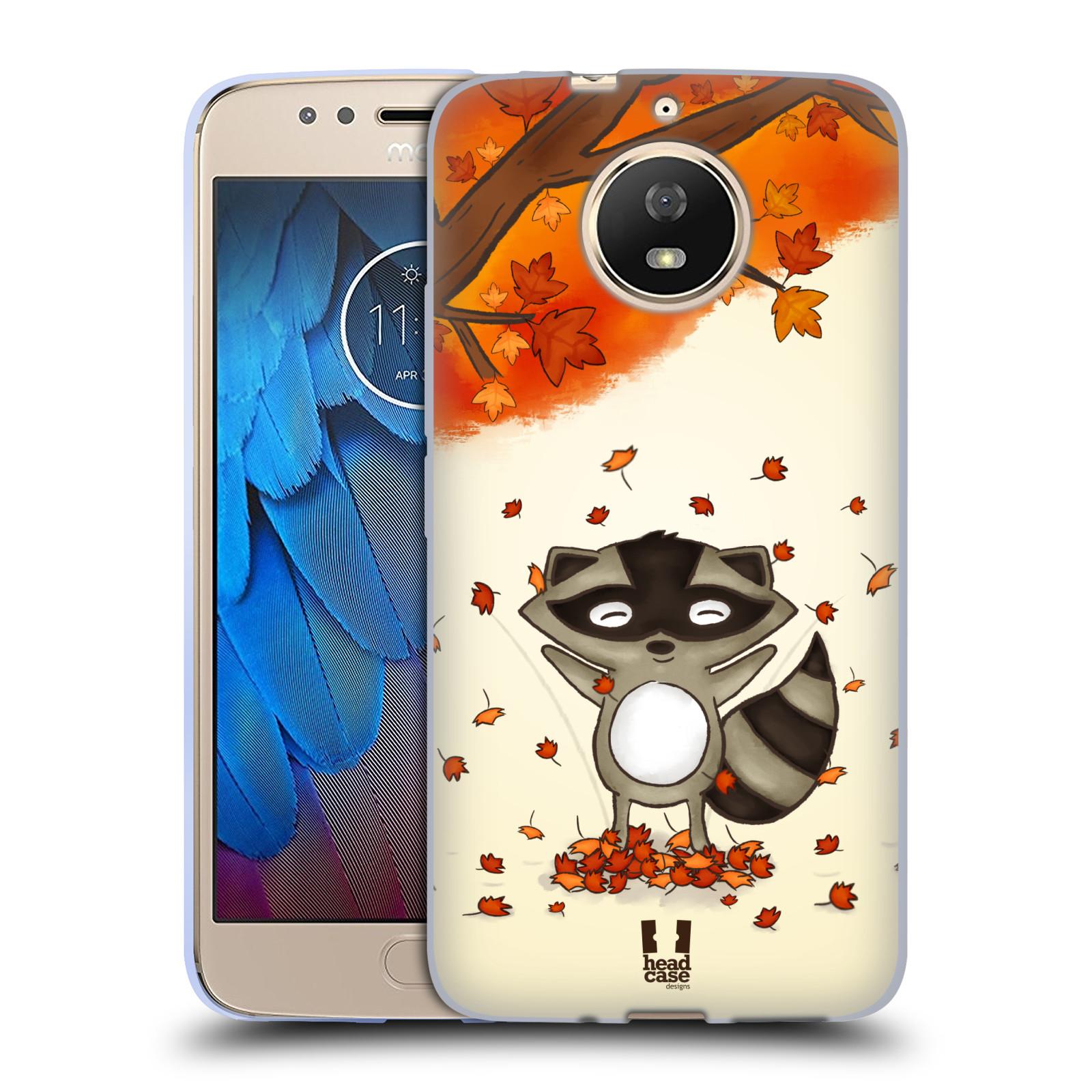 Silikonové pouzdro na mobil Lenovo Moto G5s - Head Case - PODZIMNÍ MÝVAL