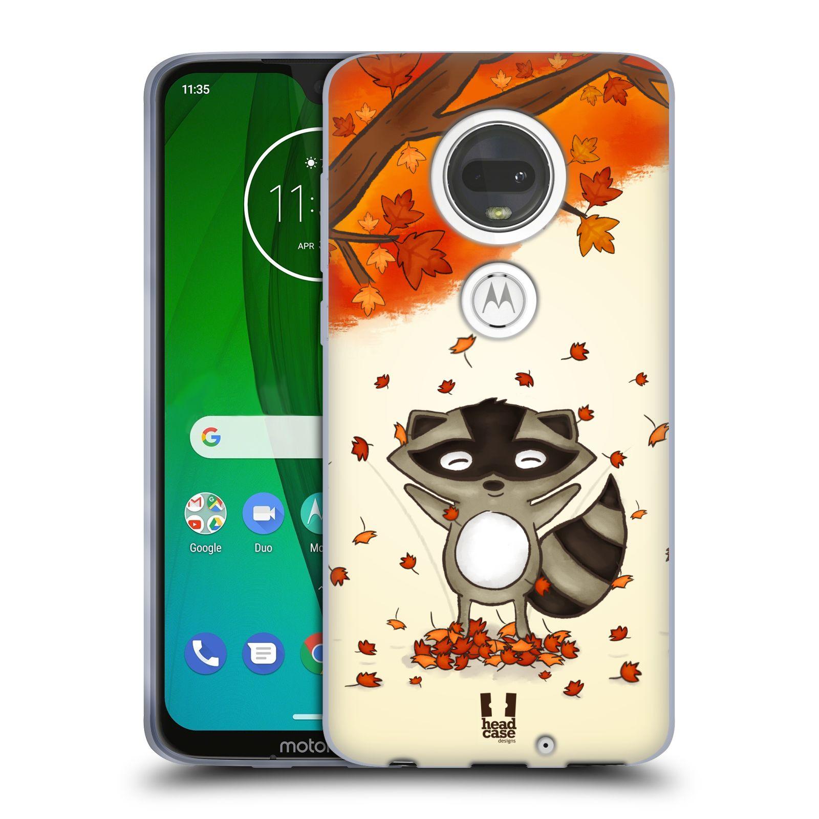 Silikonové pouzdro na mobil Motorola Moto G7 - Head Case - PODZIMNÍ MÝVAL