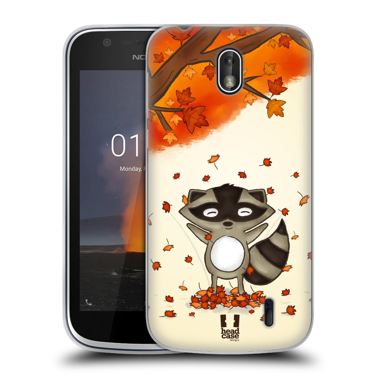 Silikonové pouzdro na mobil Nokia 1 - Head Case - PODZIMNÍ MÝVAL