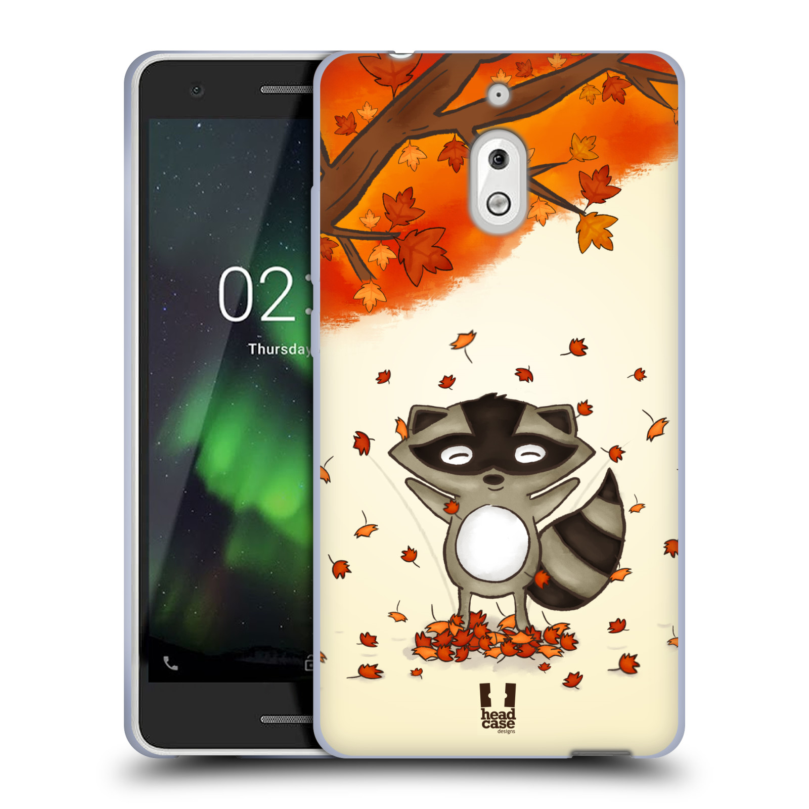 Silikonové pouzdro na mobil Nokia 2.1 - Head Case - PODZIMNÍ MÝVAL