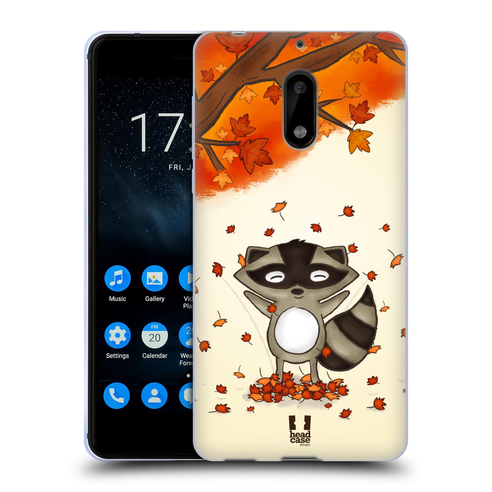 Silikonové pouzdro na mobil Nokia 6 - Head Case - PODZIMNÍ MÝVAL