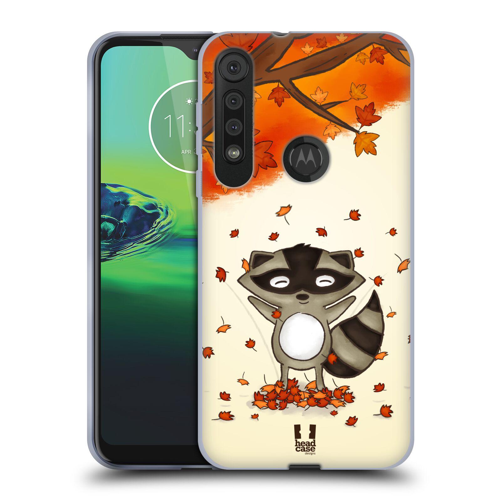 Silikonové pouzdro na mobil Motorola One Macro - Head Case - PODZIMNÍ MÝVAL