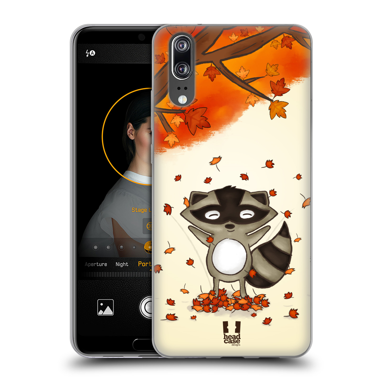 Silikonové pouzdro na mobil Huawei P20 - Head Case - PODZIMNÍ MÝVAL