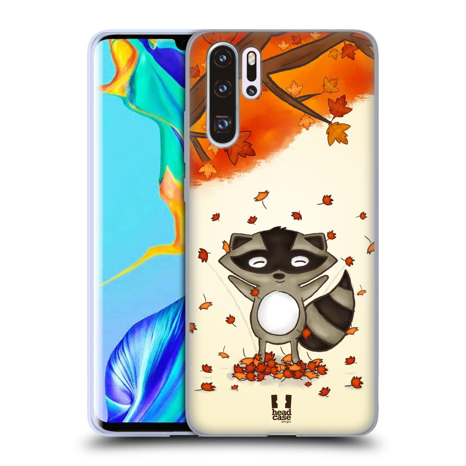 Silikonové pouzdro na mobil Huawei P30 Pro - Head Case - PODZIMNÍ MÝVAL