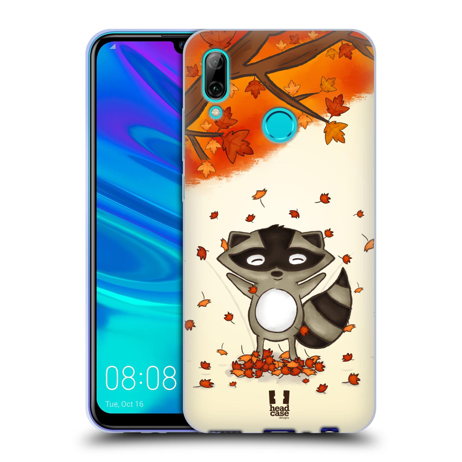 Silikonové pouzdro na mobil Huawei P Smart (2019) - Head Case - PODZIMNÍ MÝVAL