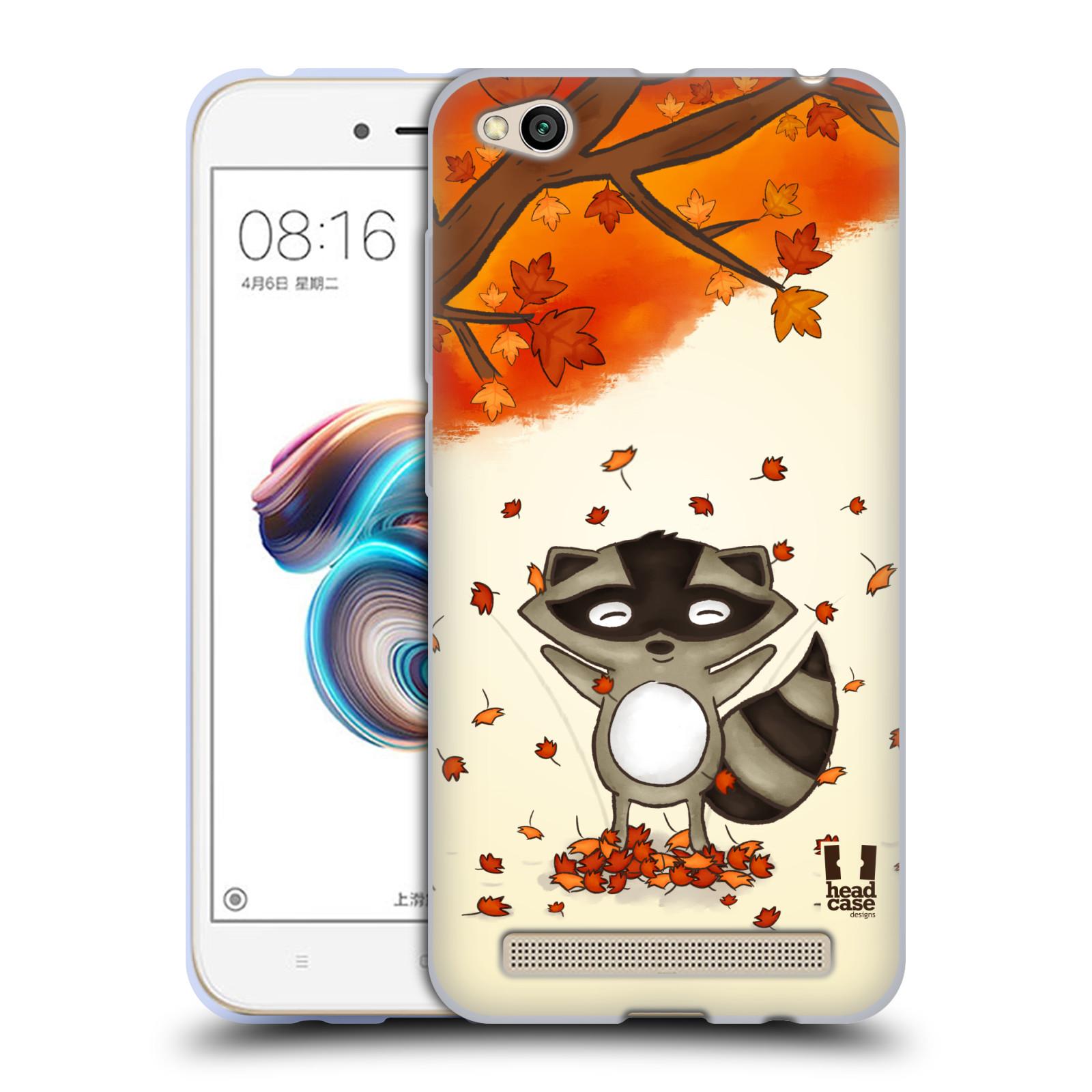 Silikonové pouzdro na mobil Xiaomi Redmi 5A - Head Case - PODZIMNÍ MÝVAL